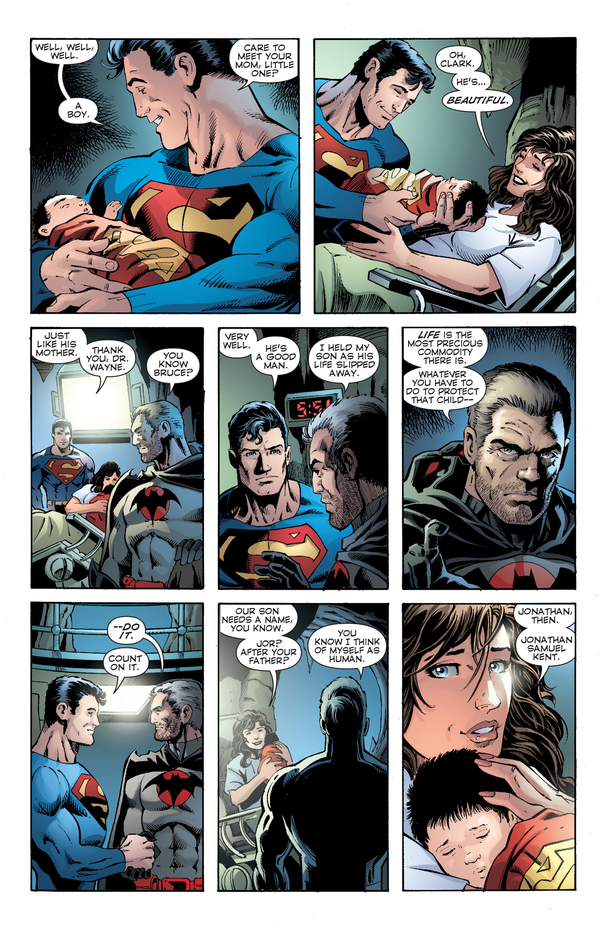 Read online Convergence Superman comic -  Issue #2 - 21