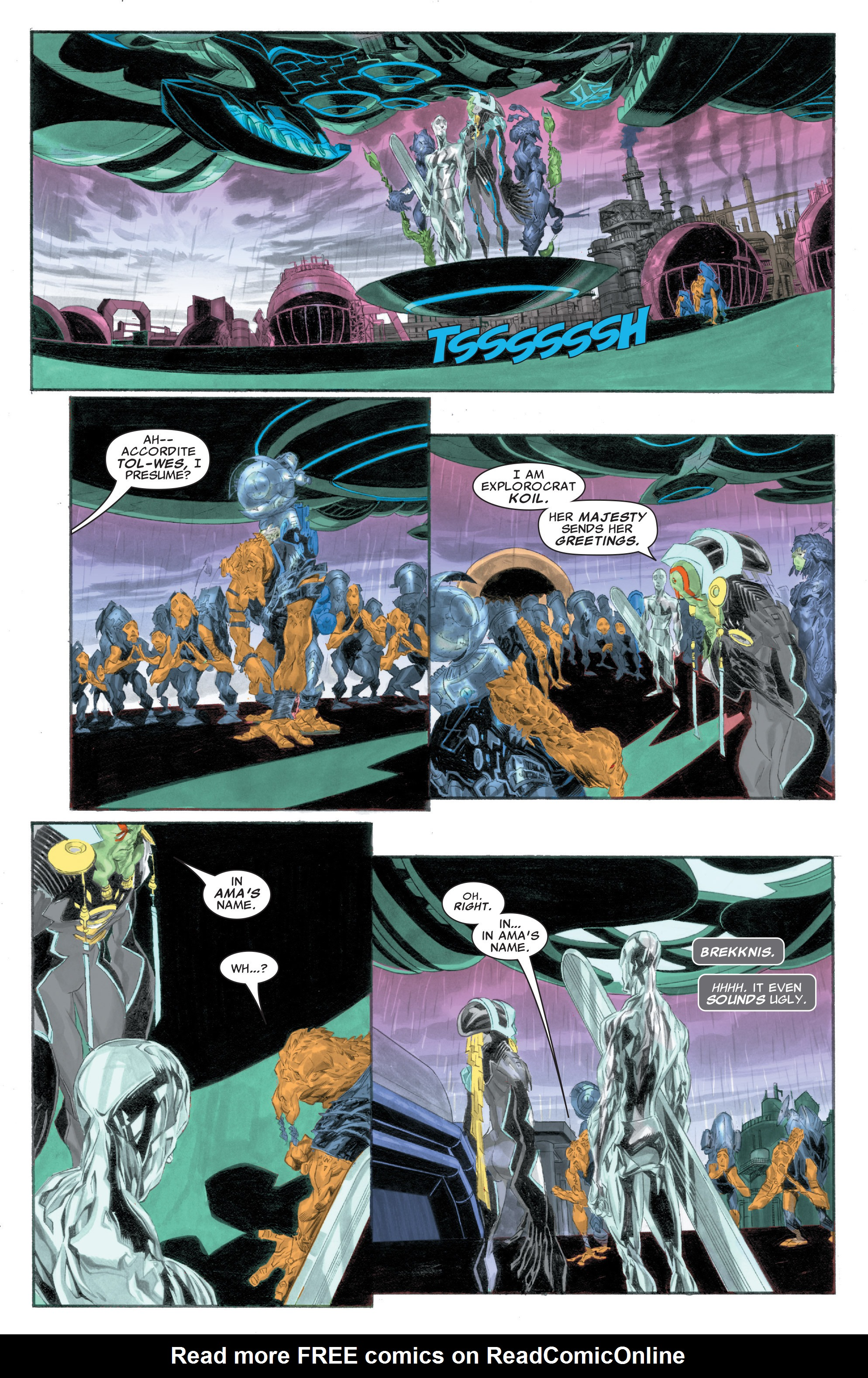 Read online Silver Surfer: In Thy Name comic -  Issue #1 - 18