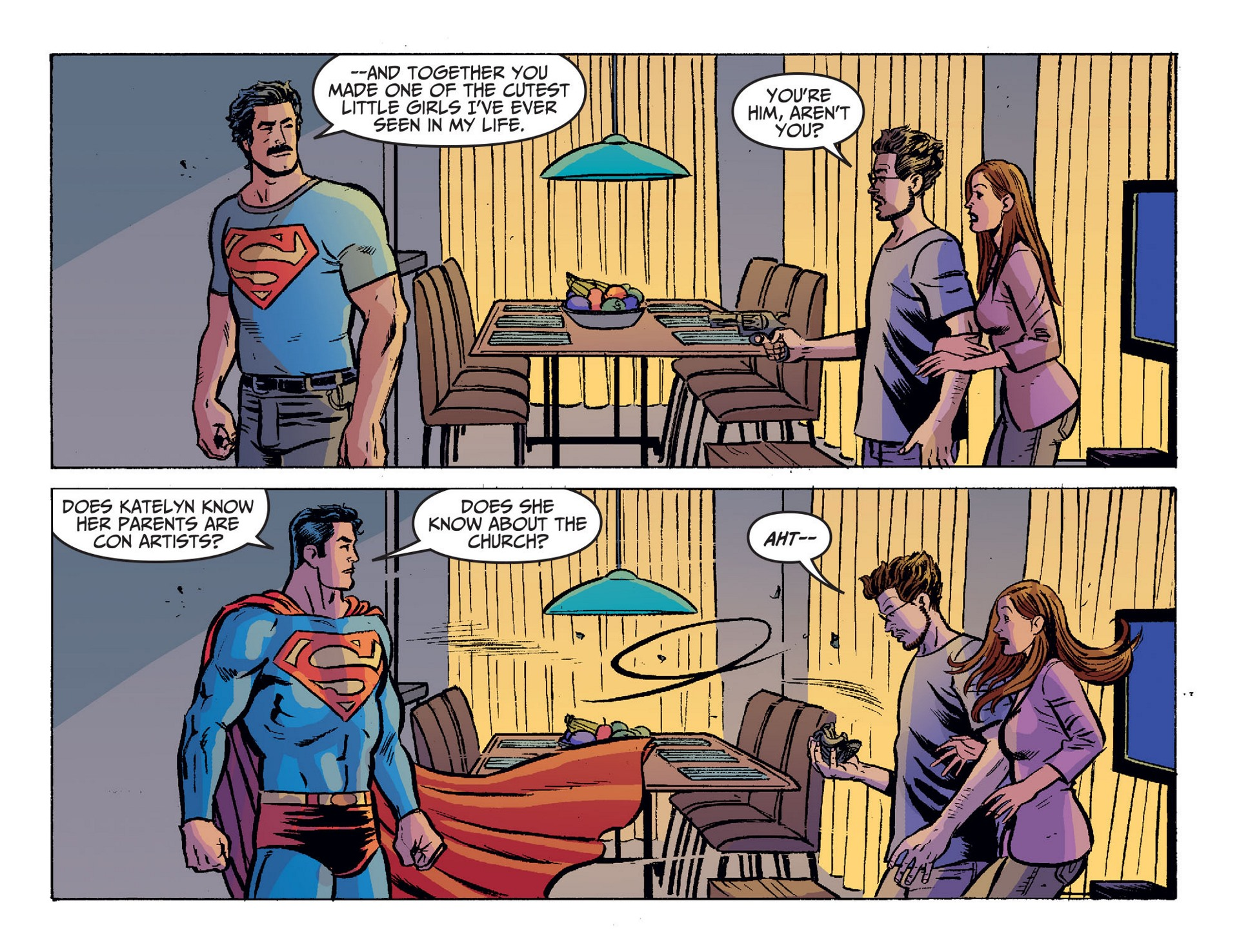 Read online Adventures of Superman [I] comic -  Issue #20 - 7