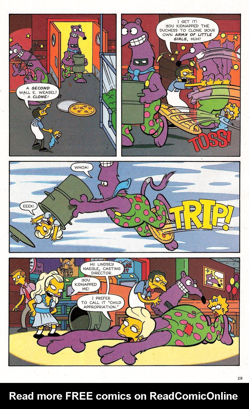 Read online Simpsons Comics Presents Bart Simpson comic -  Issue #31 - 31