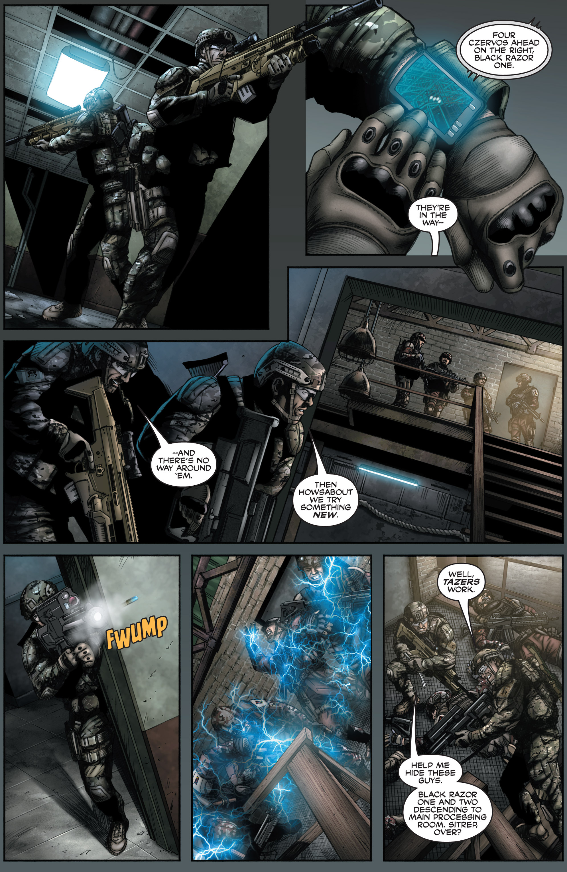 Read online America's Army comic -  Issue #8 - 17