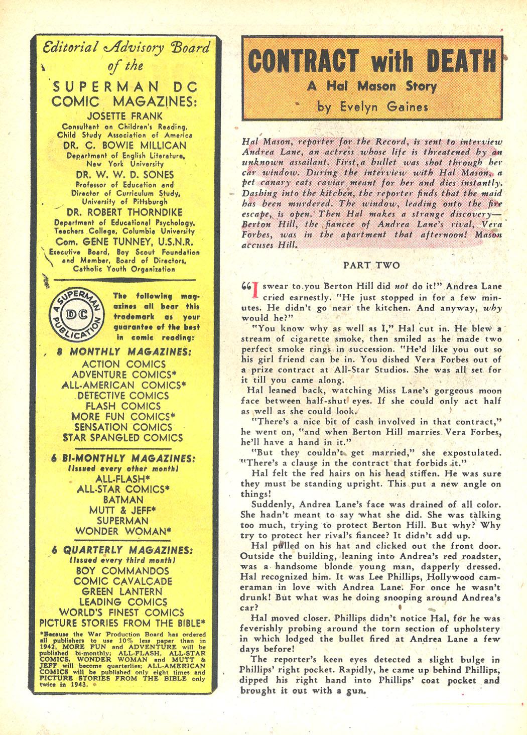 Read online Sensation (Mystery) Comics comic -  Issue #23 - 40