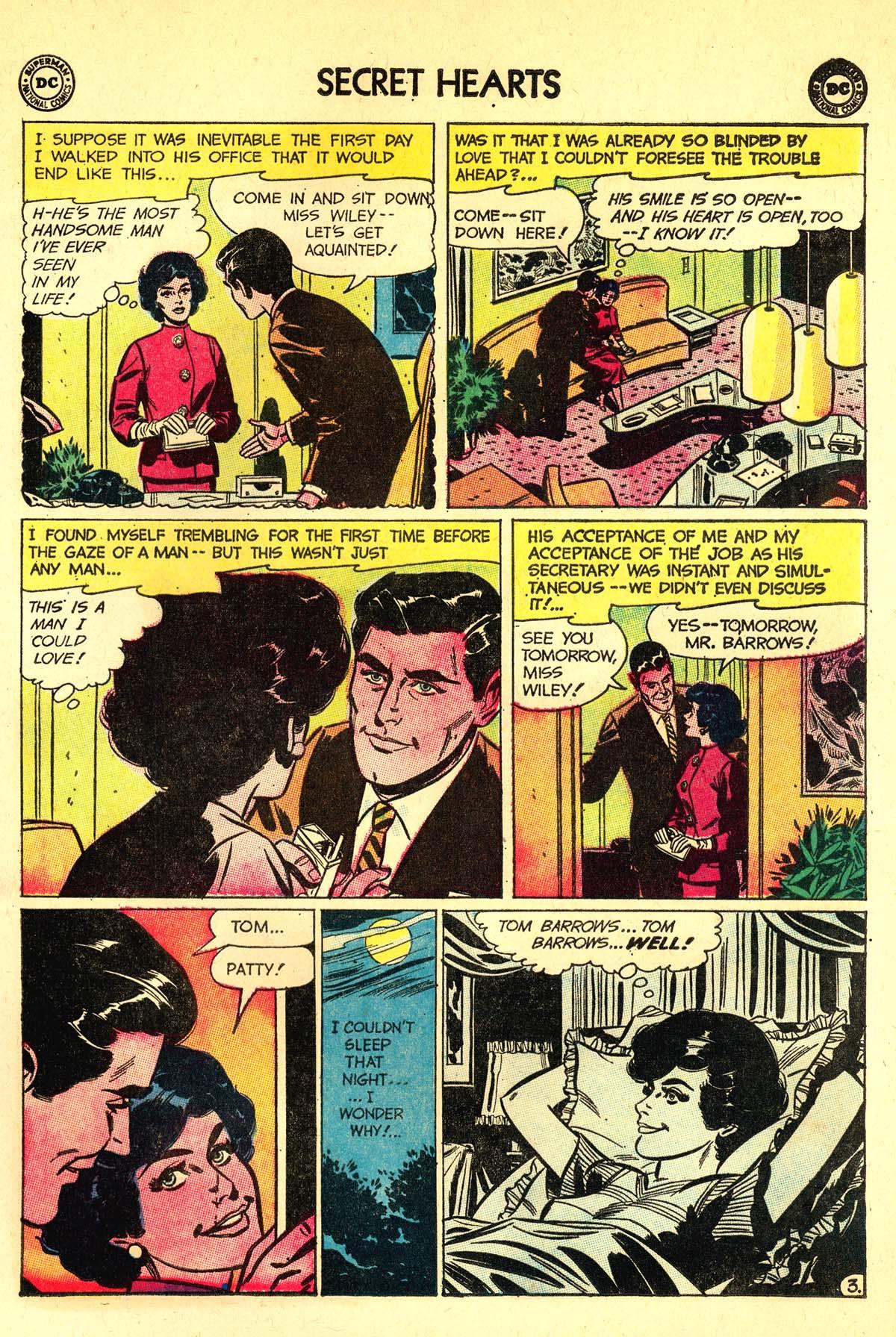 Read online Secret Hearts comic -  Issue #89 - 5