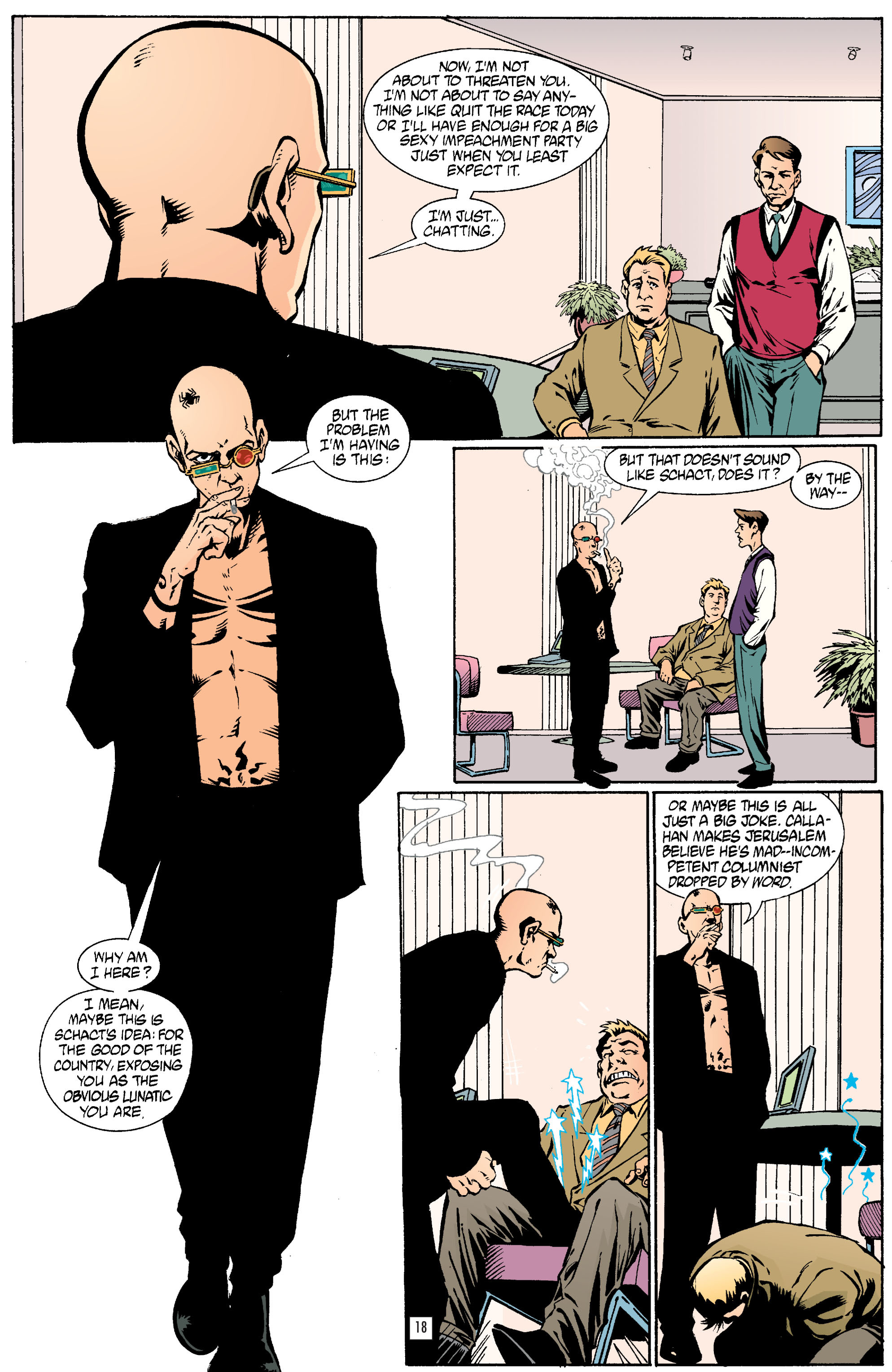 Read online Transmetropolitan comic -  Issue #23 - 19