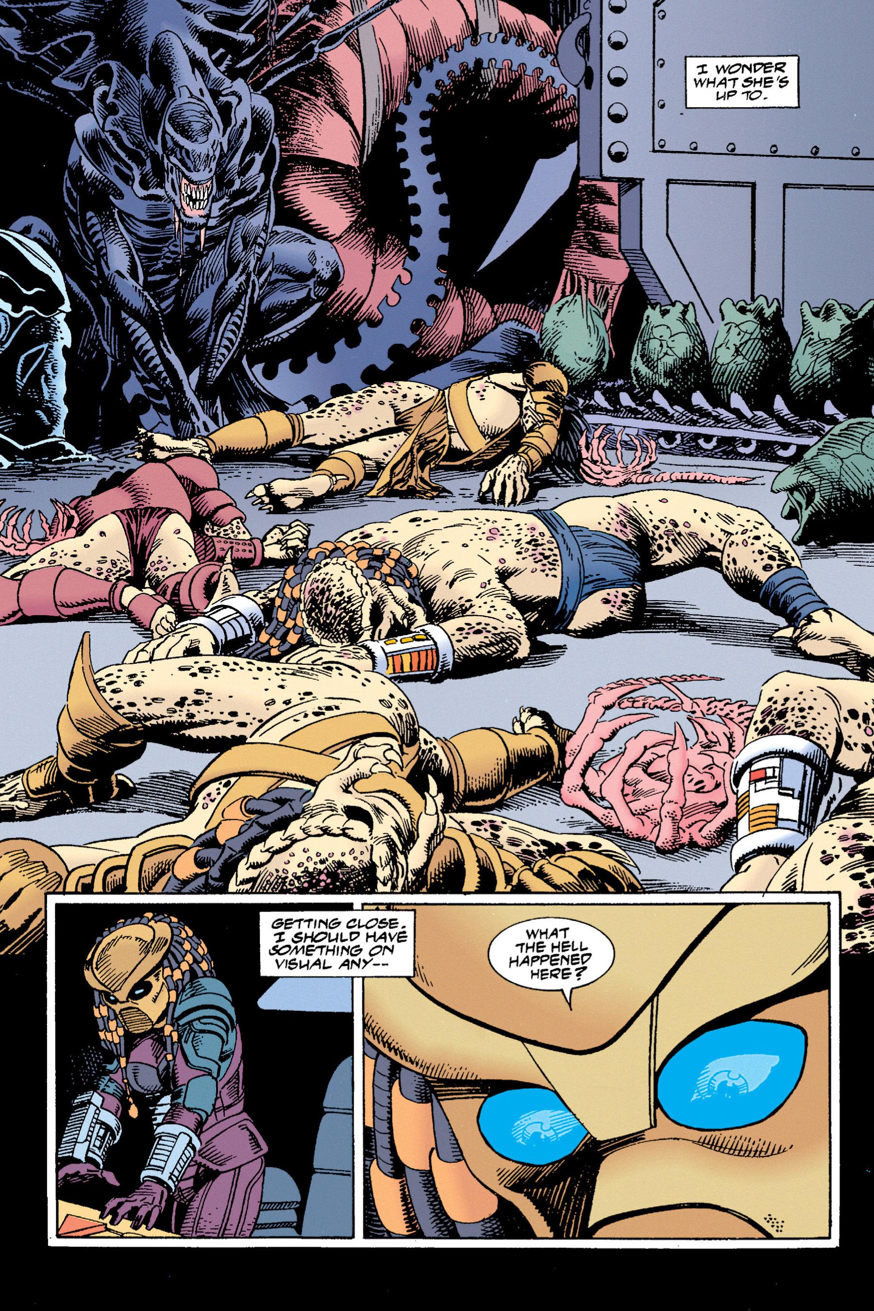Read online Aliens vs. Predator Omnibus comic -  Issue # _TPB 1 Part 4 - 4