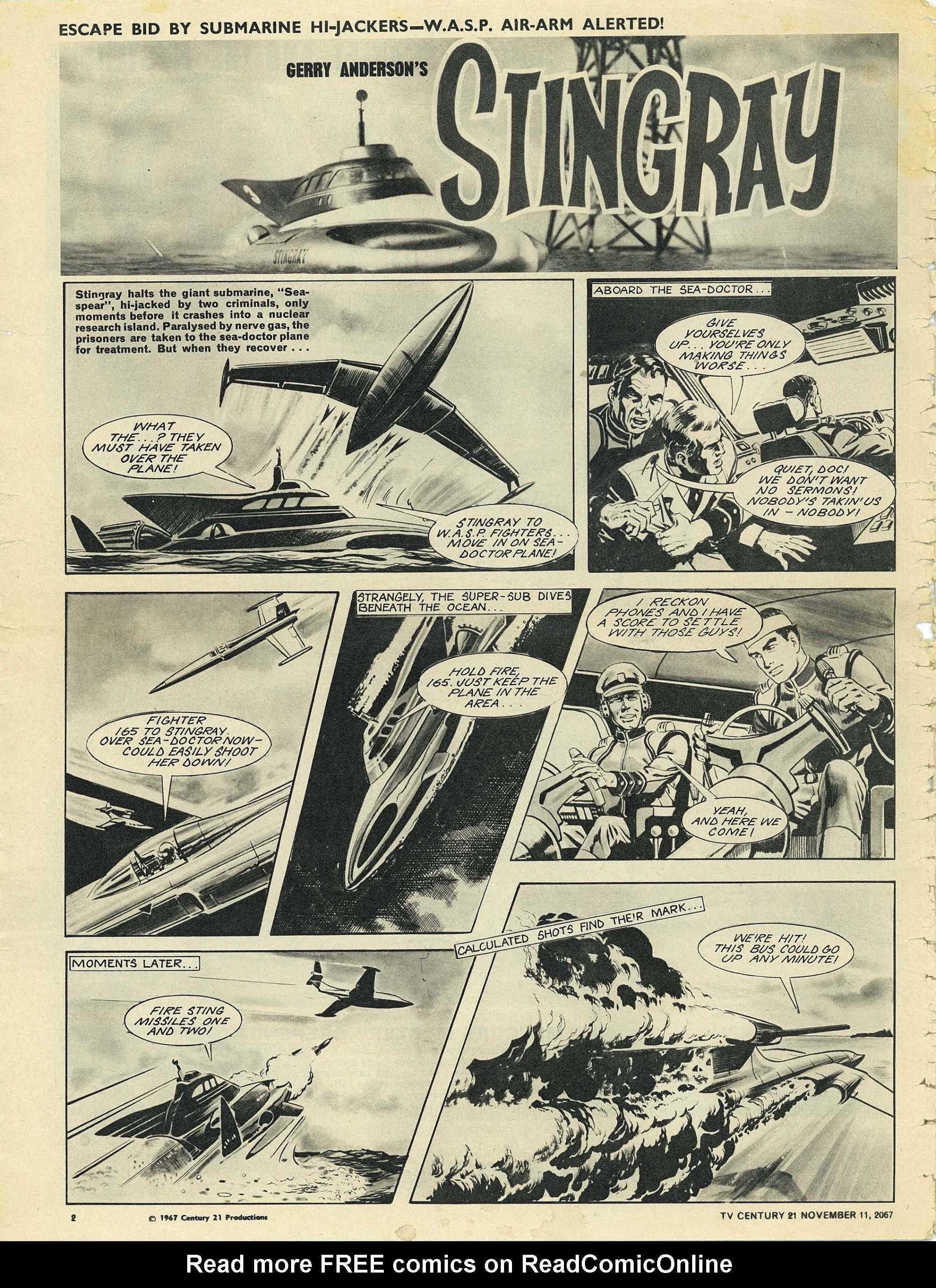 Read online TV Century 21 (TV 21) comic -  Issue #147 - 2
