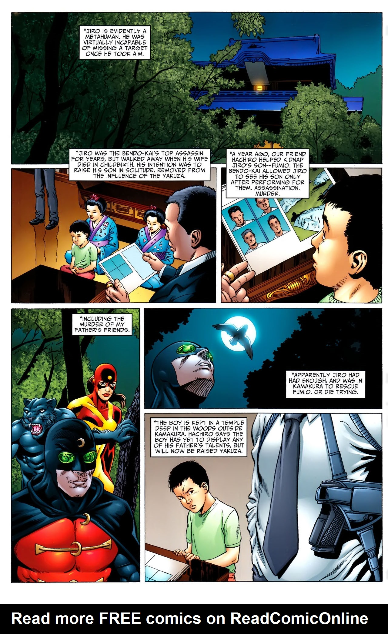 Read online JSA 80-Page Giant 2011 comic -  Issue # Full - 19