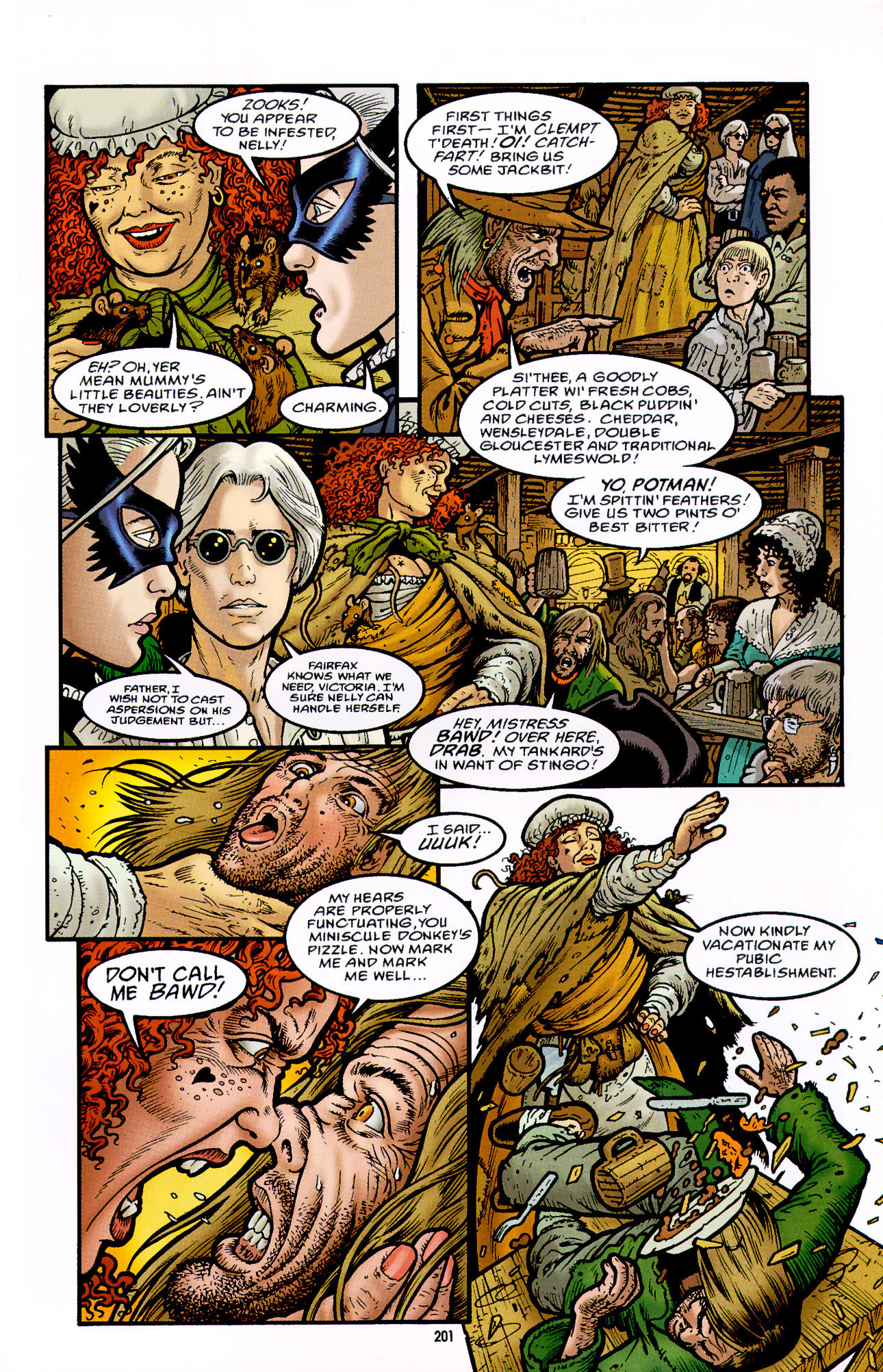 Read online Heart of Empire comic -  Issue #7 - 7