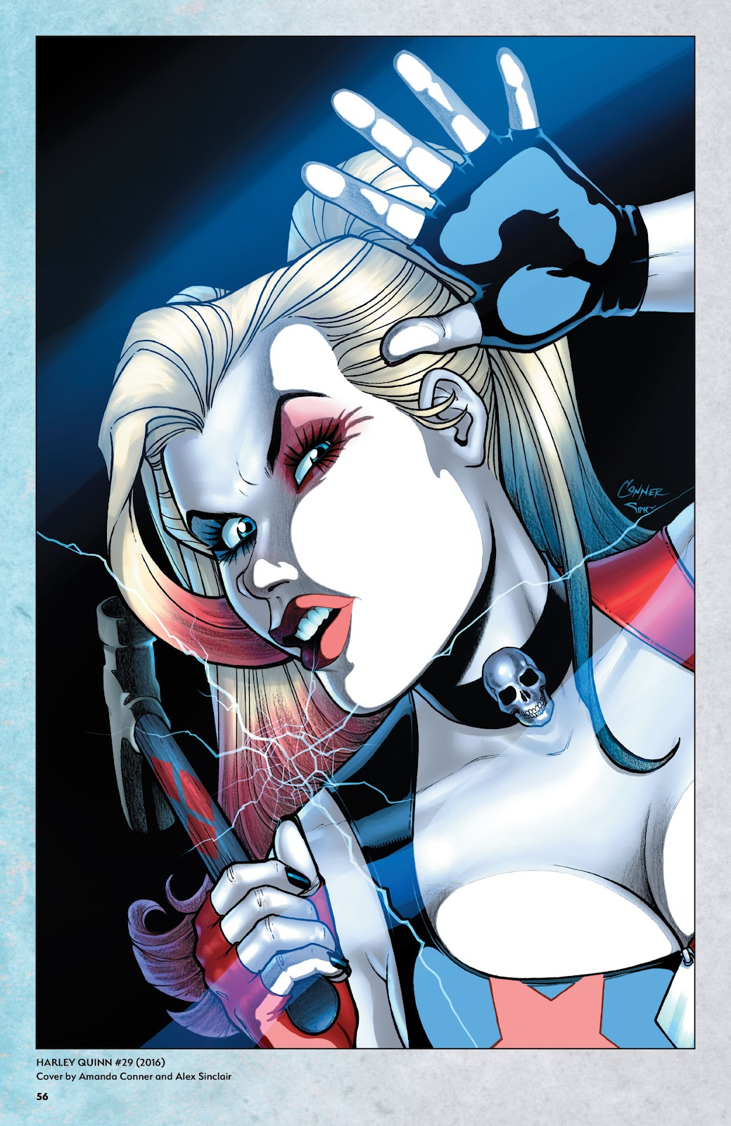 Read online Harley Quinn: A Rogue's Gallery―The Deluxe Cover Art Collection comic -  Issue # TPB (Part 1) - 54