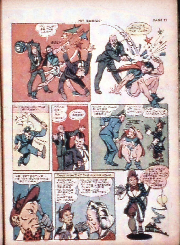 Read online Hit Comics comic -  Issue #29 - 23