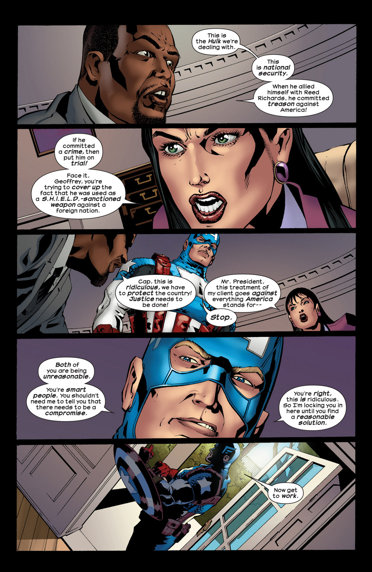 Read online Ultimate Comics Ultimates comic -  Issue #22 - 11