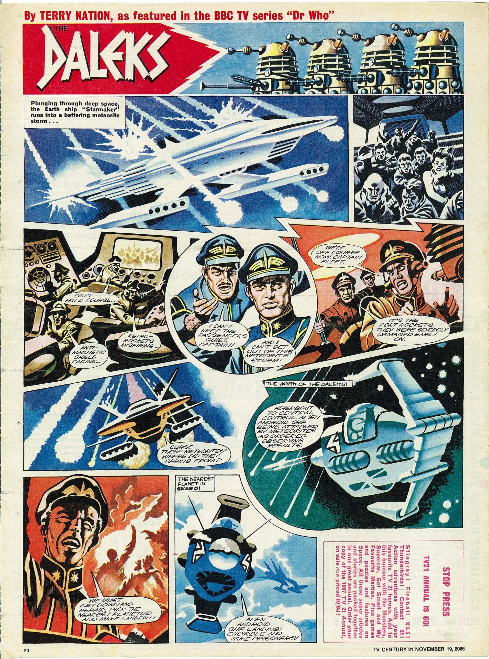 Read online TV Century 21 (TV 21) comic -  Issue #96 - 19