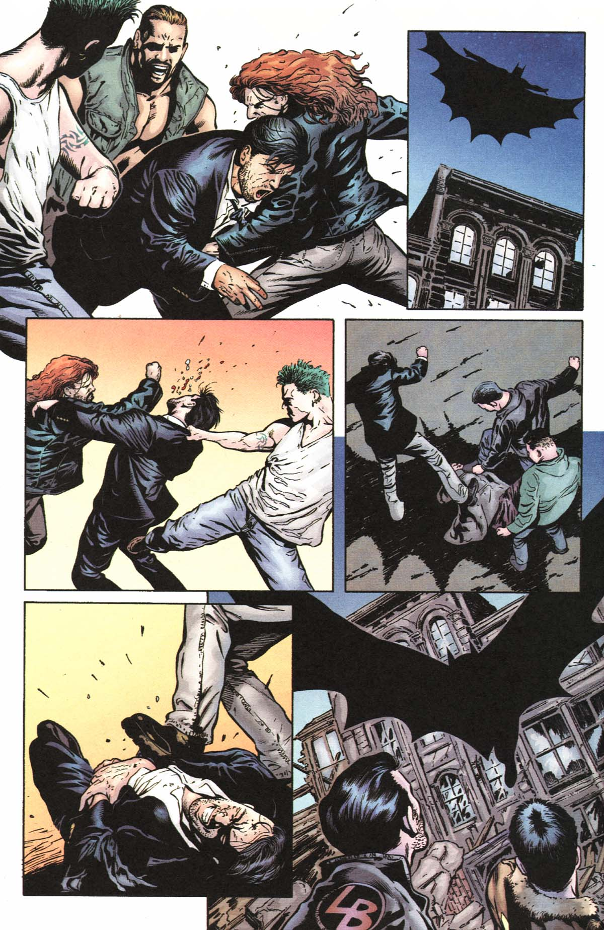 Read online Batman: No Man's Land comic -  Issue #0 - 16