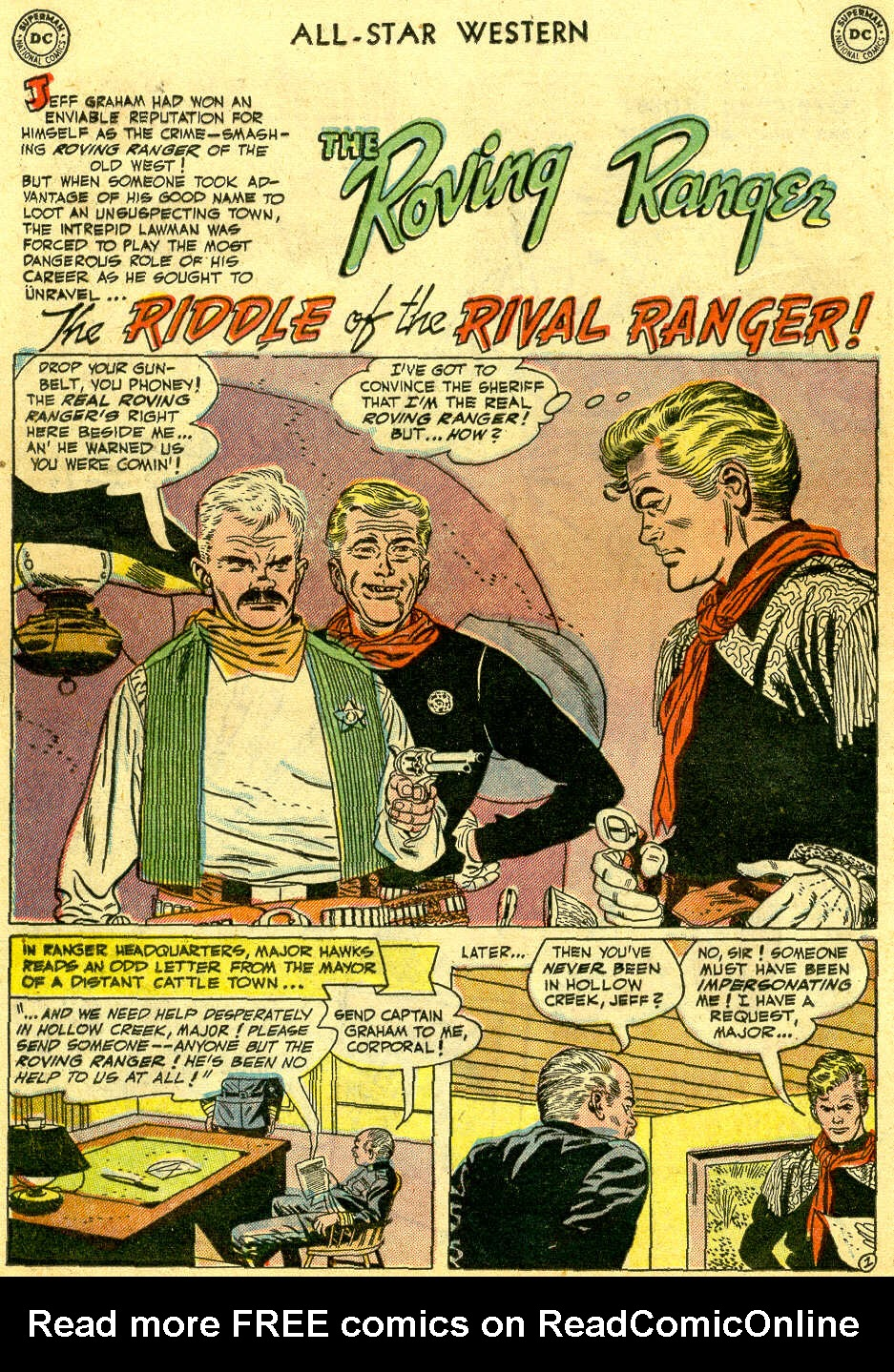 Read online All-Star Western (1951) comic -  Issue #64 - 12