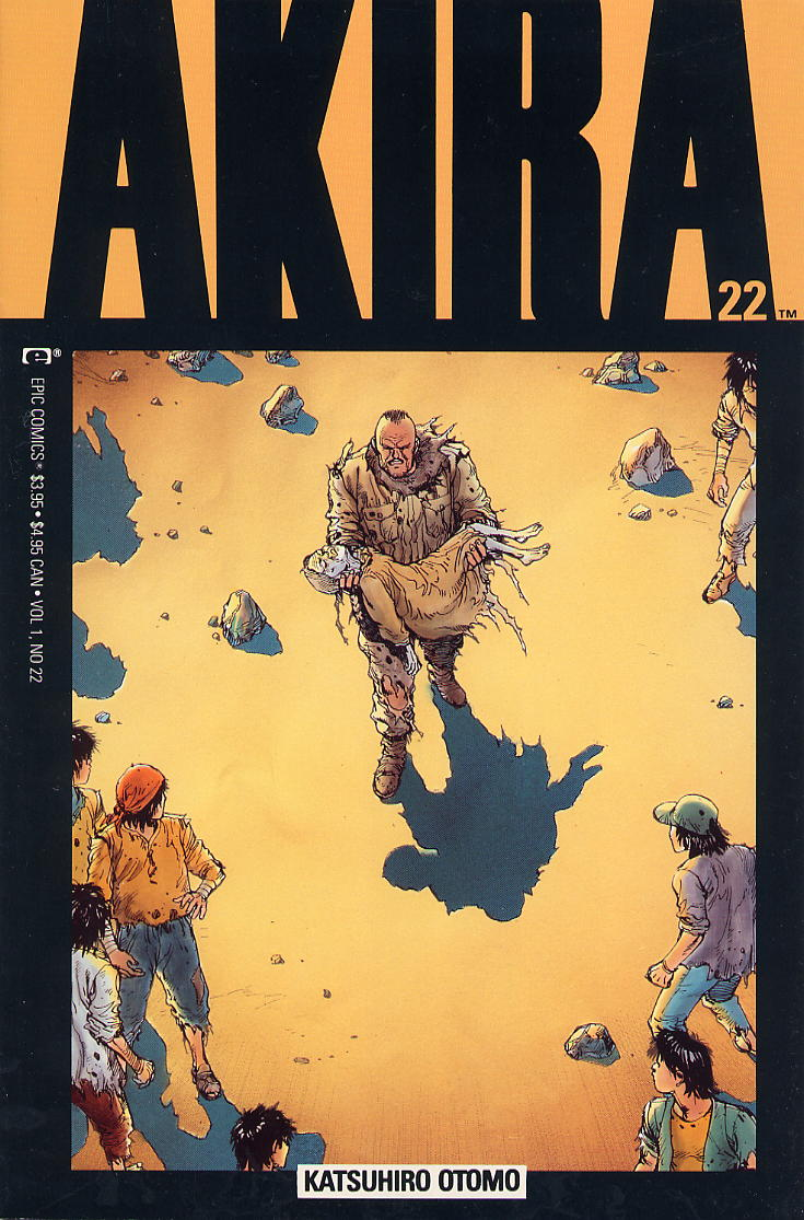 Read online Akira comic -  Issue #22 - 1
