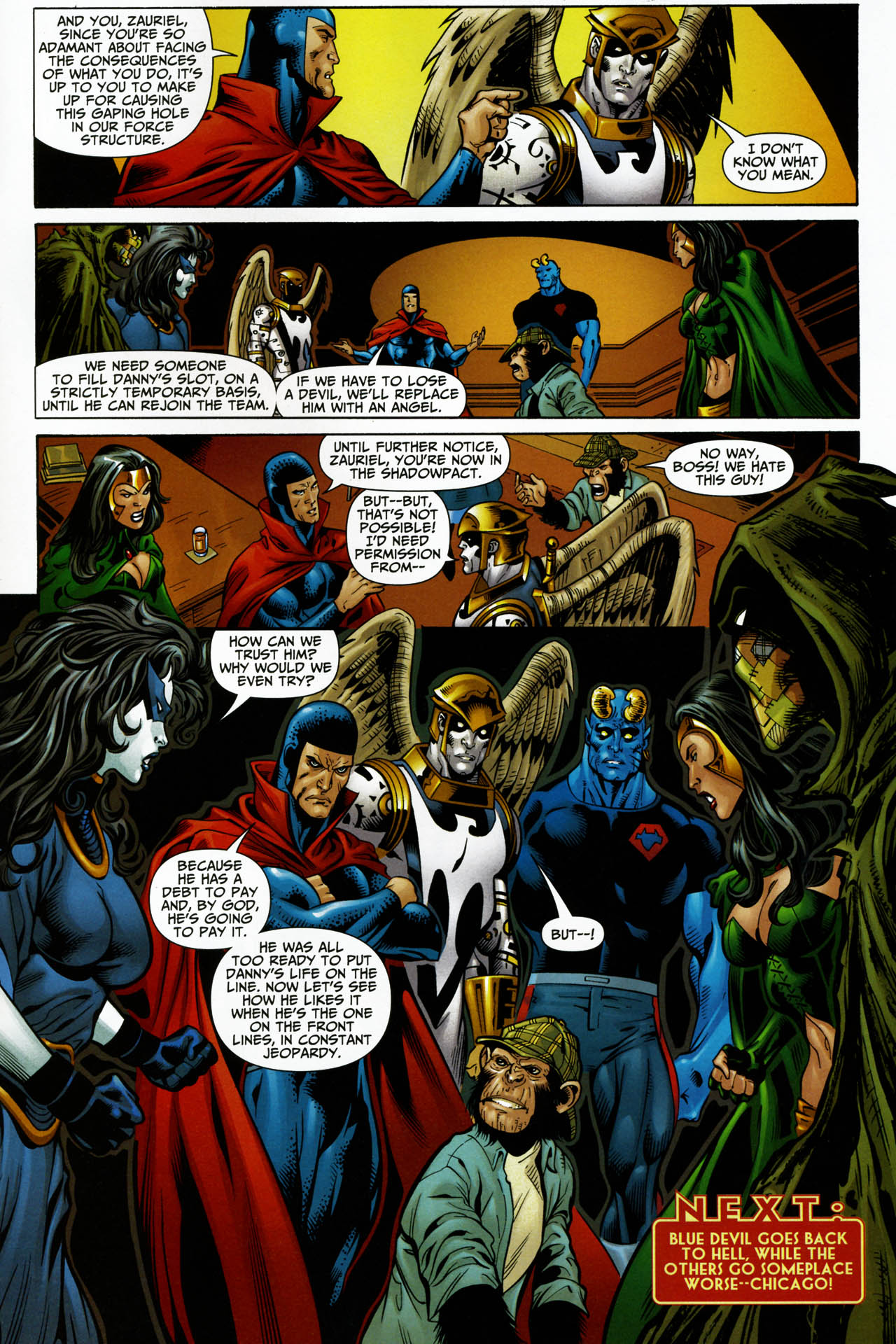 Read online Shadowpact comic -  Issue #14 - 23
