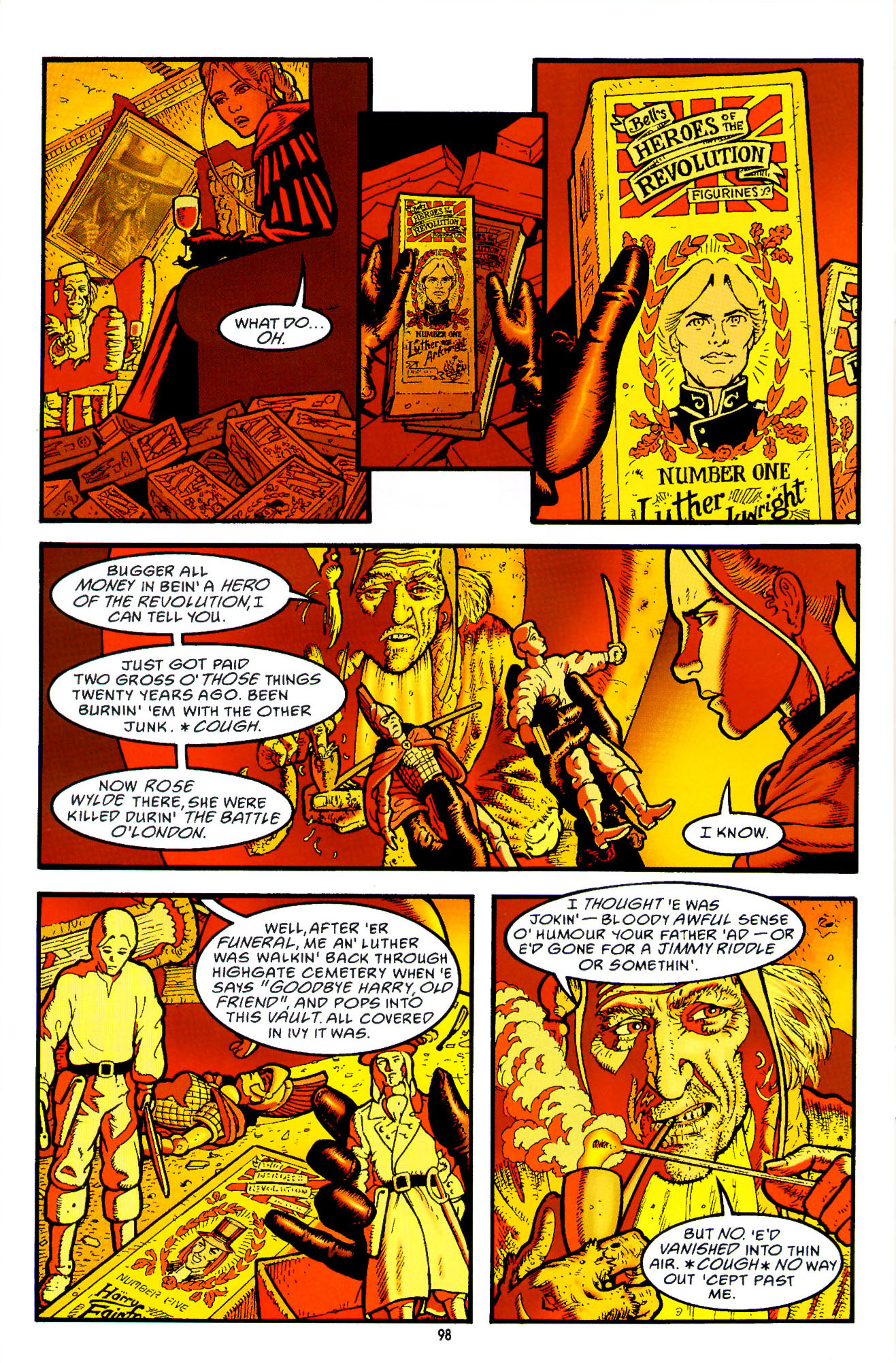 Read online Heart of Empire comic -  Issue #3 - 40