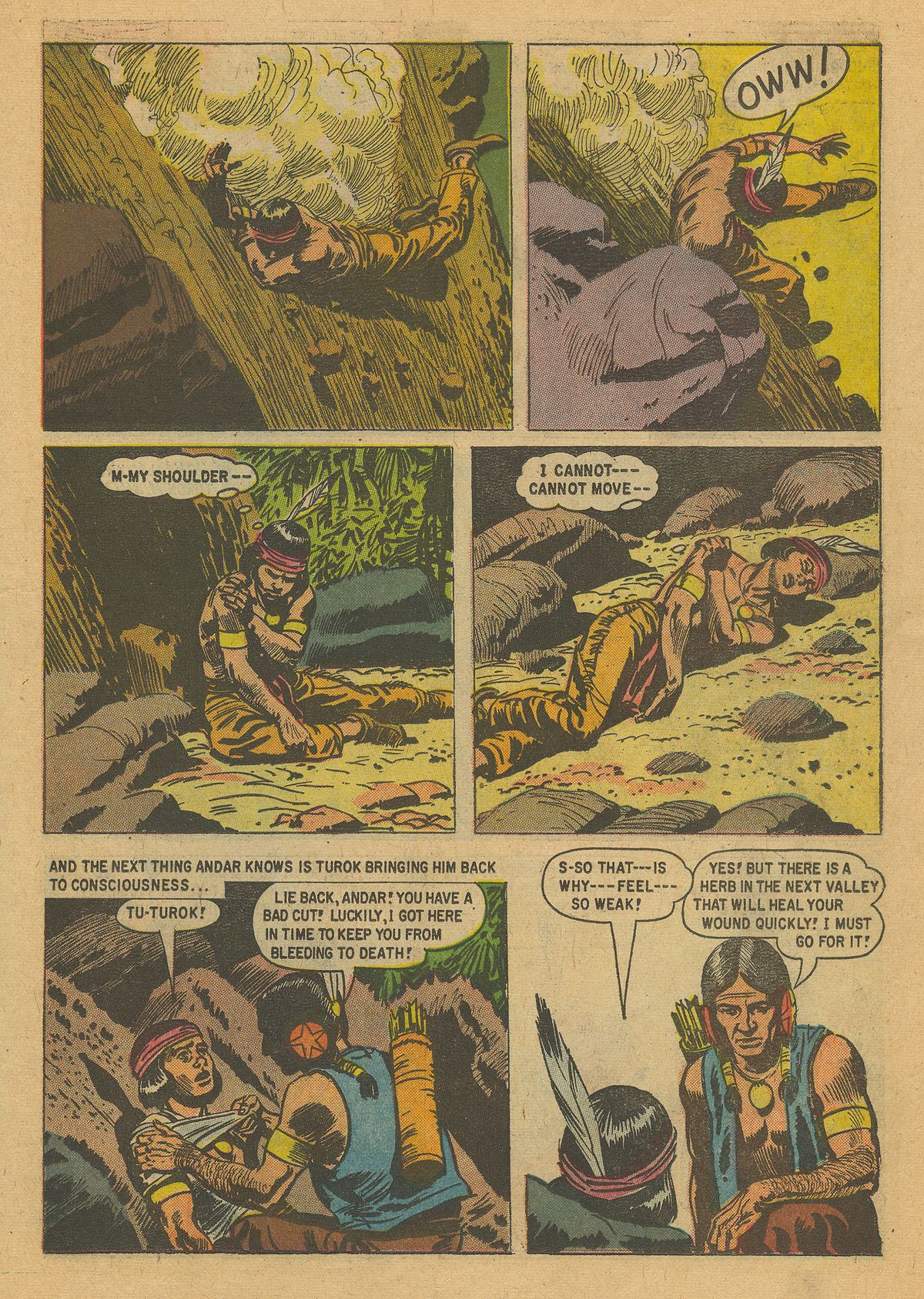 Read online Turok, Son of Stone comic -  Issue #16 - 23