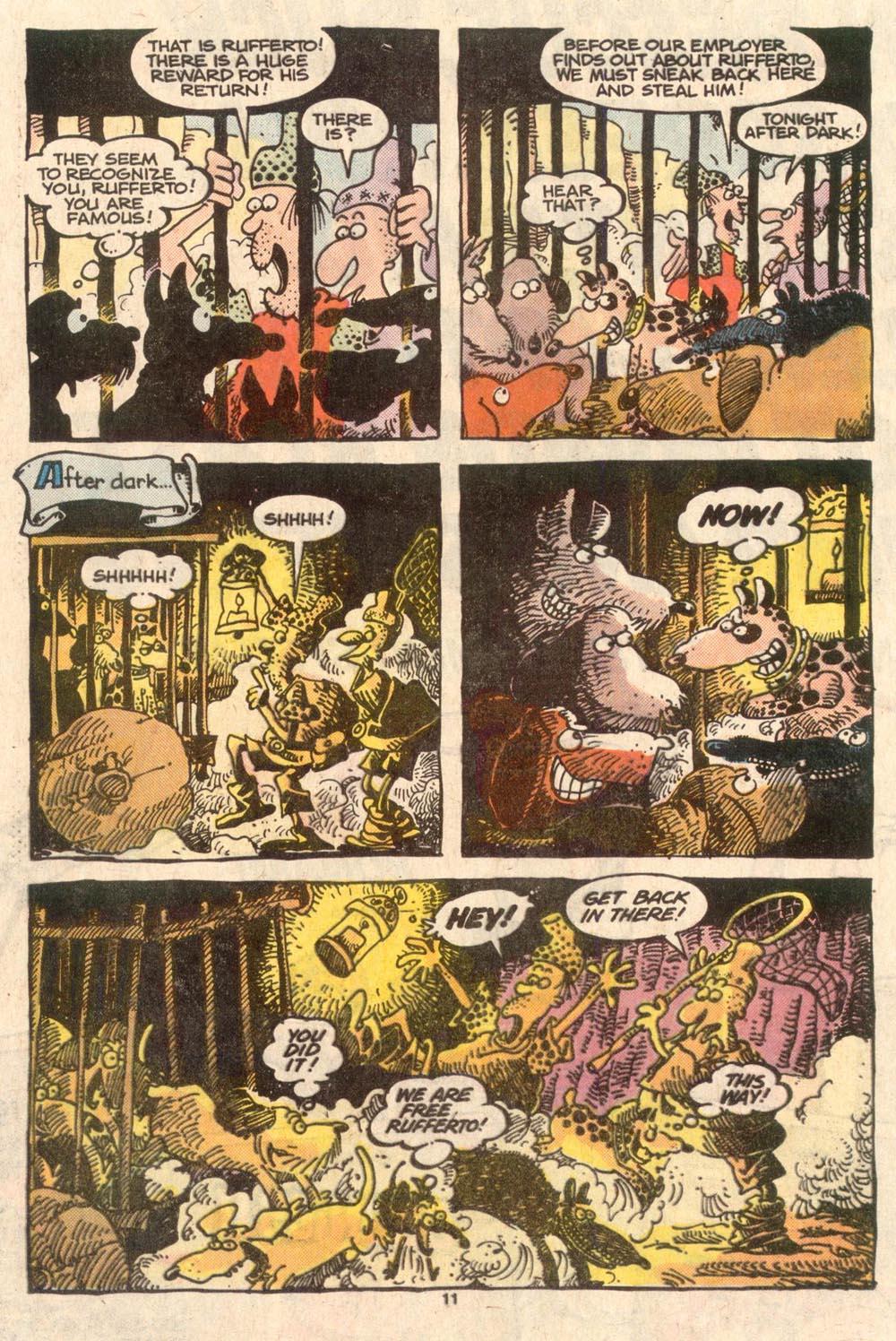 Read online Sergio Aragonés Groo the Wanderer comic -  Issue #45 - 11