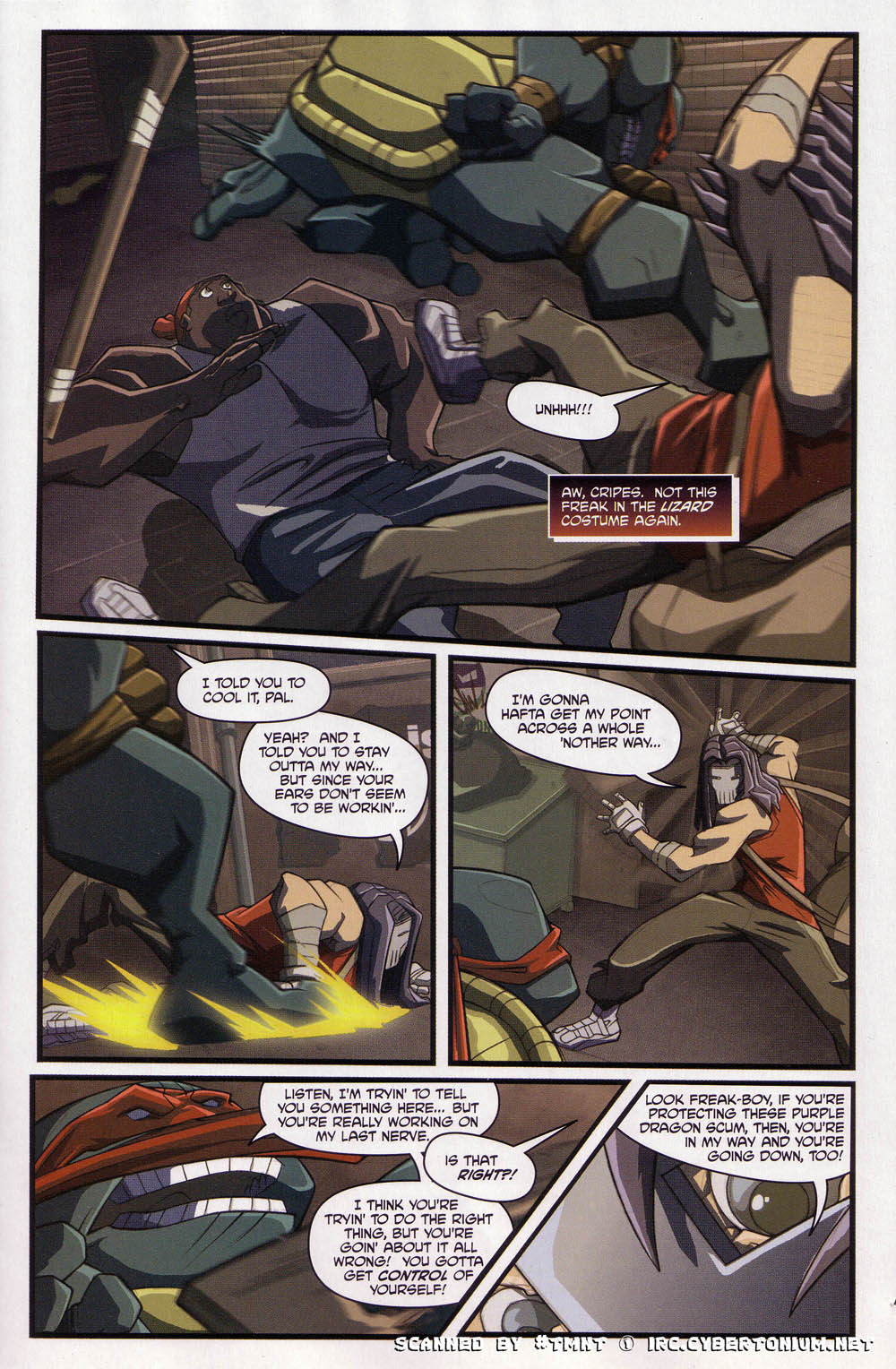Teenage Mutant Ninja Turtles (2003) issue 4 - Page 13