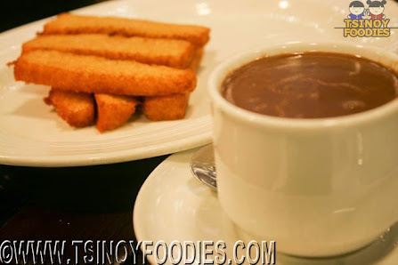 picatostes con chocolate