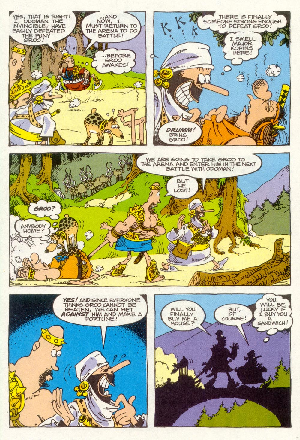 Read online Sergio Aragonés Groo the Wanderer comic -  Issue #91 - 22