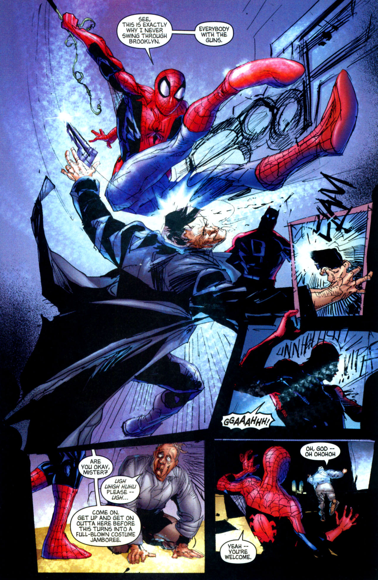 Read online Ultimate Marvel Team-Up comic -  Issue #8 - 26