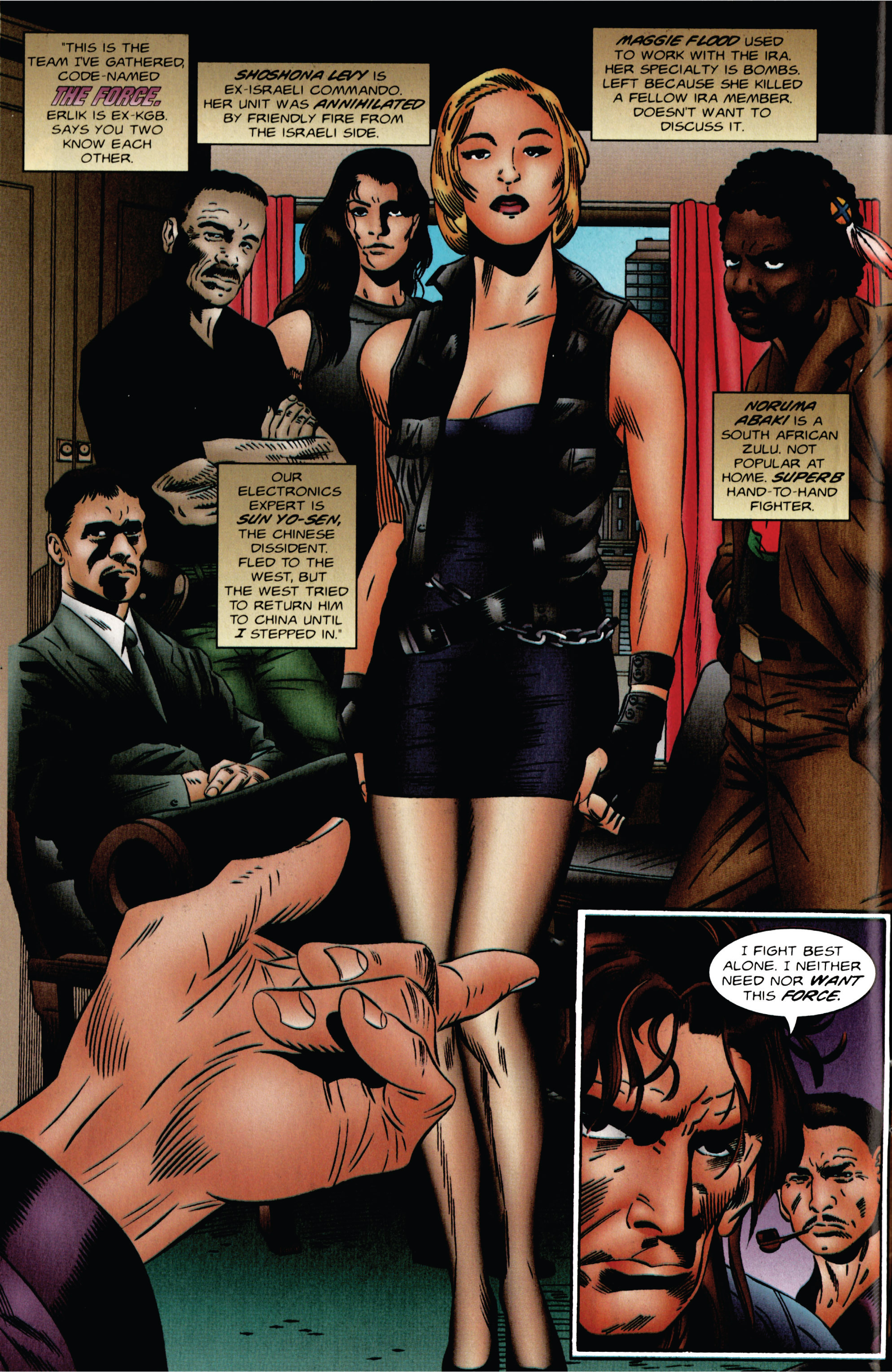 Read online Eternal Warrior (1992) comic -  Issue #47 - 7