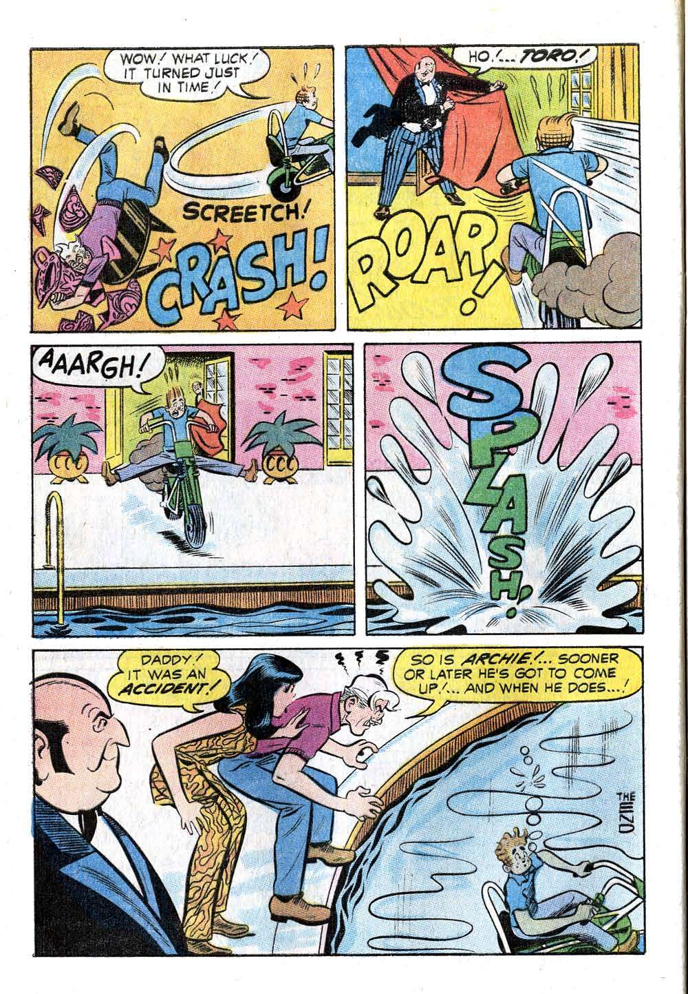 Read online Archie (1960) comic -  Issue #211 - 8