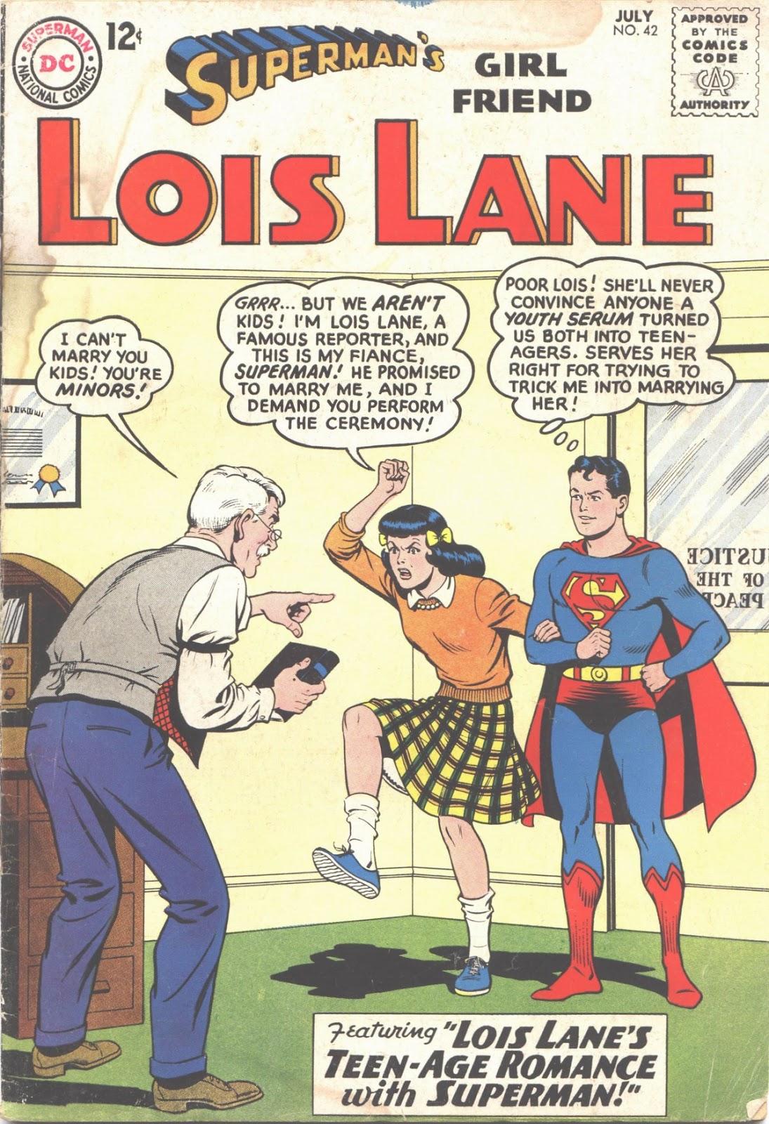 Supermans Girl Friend, Lois Lane 42 Page 1