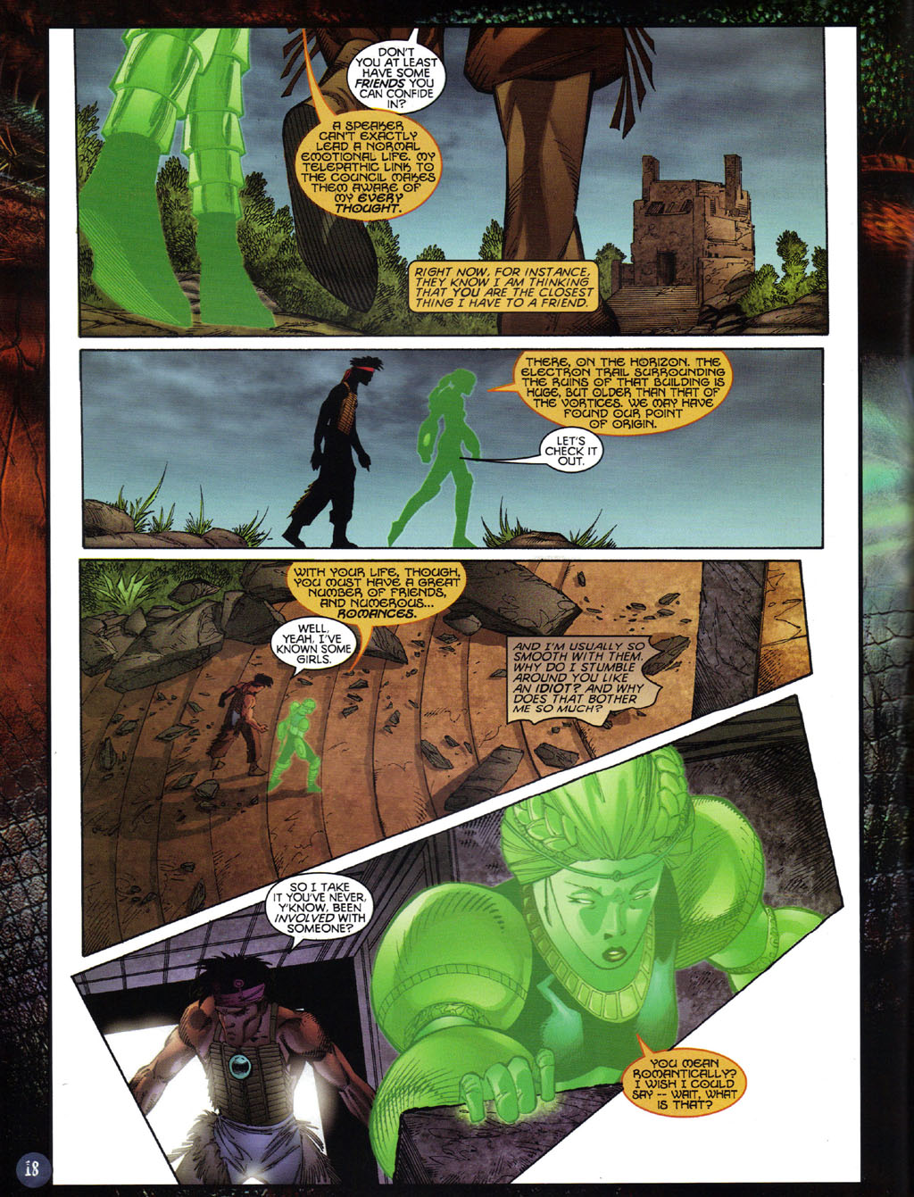 Read online Turok 2: Adon's Curse comic -  Issue # Full - 19