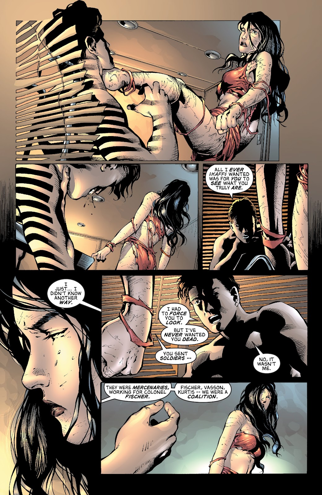 Read online Elektra (2001) comic -  Issue # _TPB Elektra by Greg Rucka Ultimate Collection (Part 3) - 9