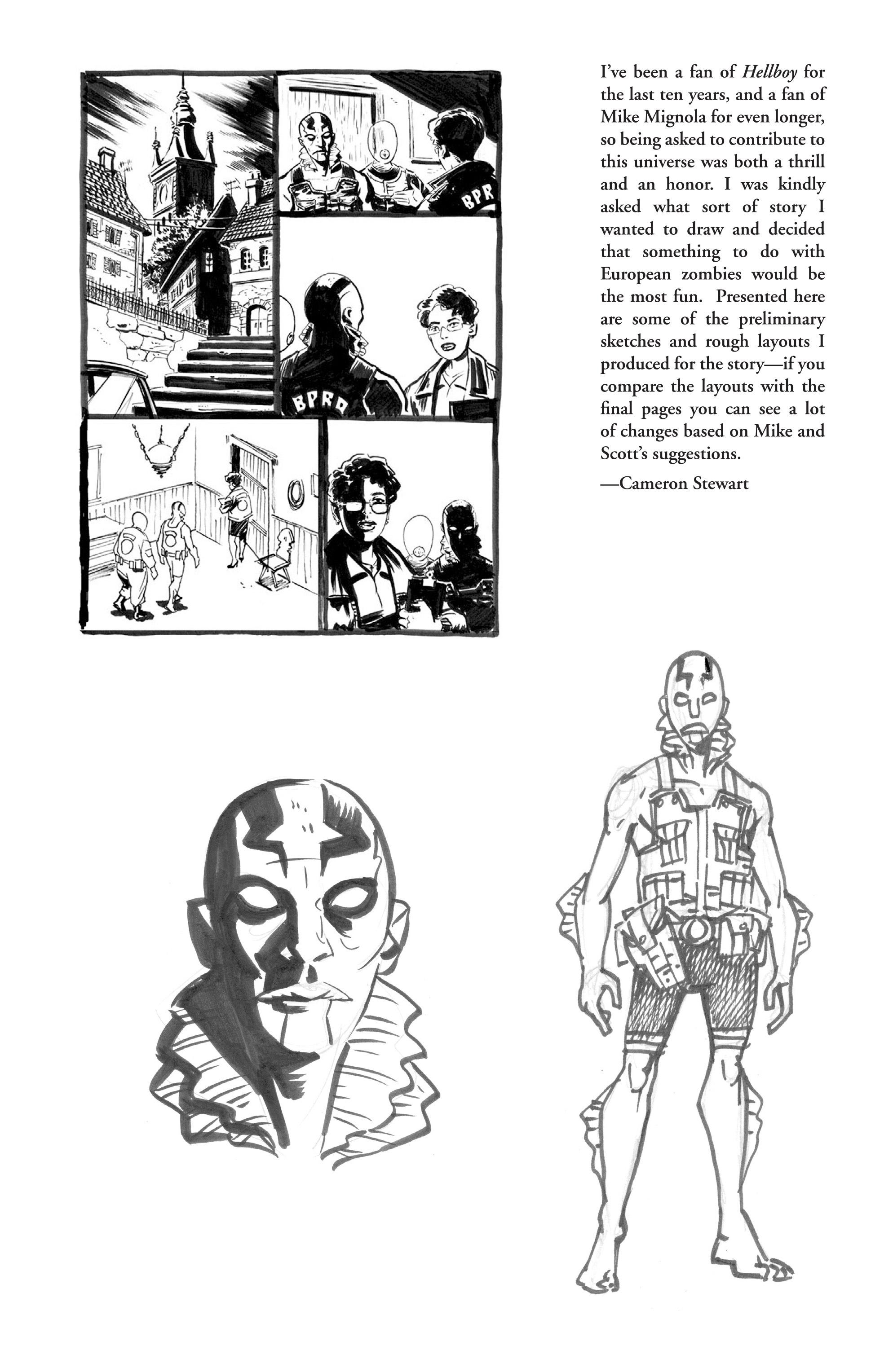 Read online B.P.R.D. (2003) comic -  Issue # TPB 2 - 126