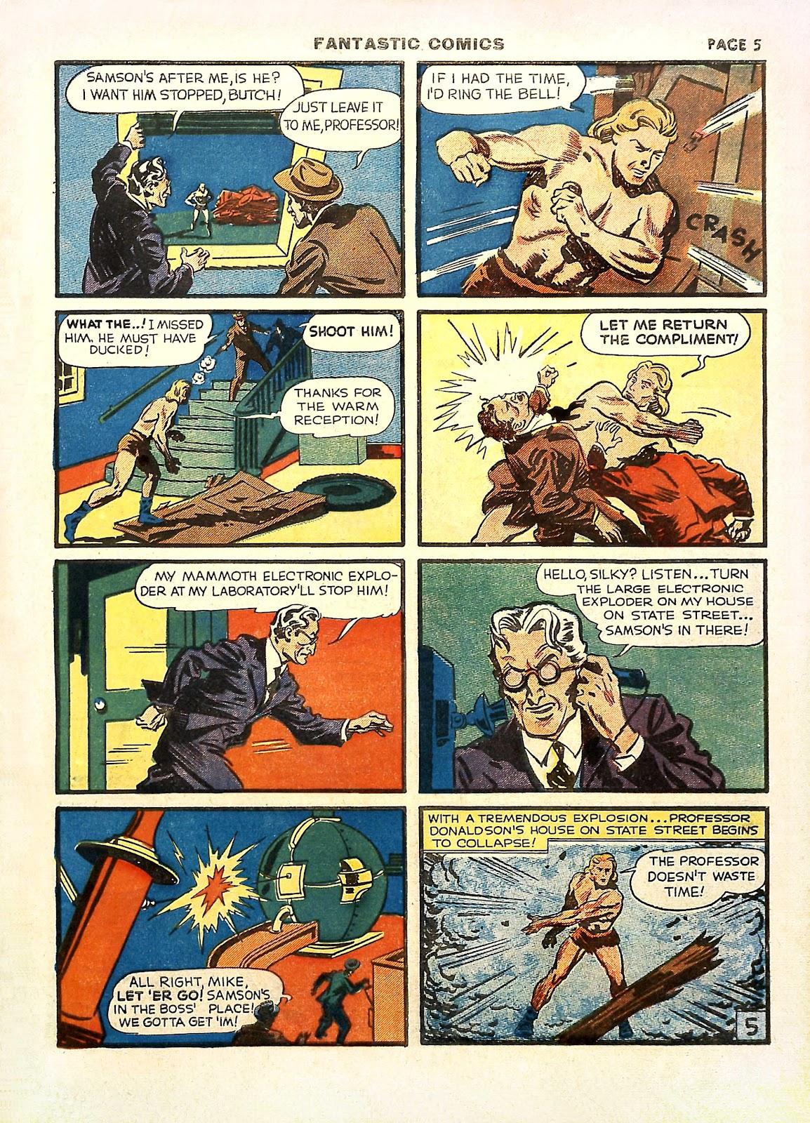 Read online Fantastic Comics comic -  Issue #11 - 8