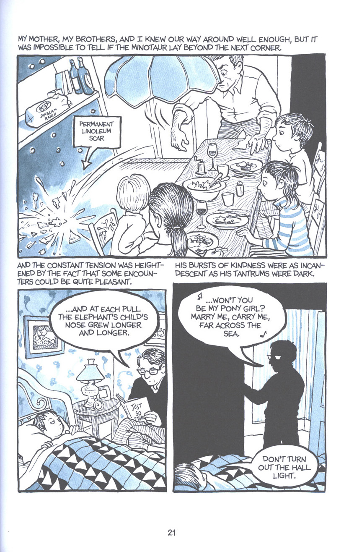 Read online Fun Home: A Family Tragicomic comic -  Issue # TPB - 28