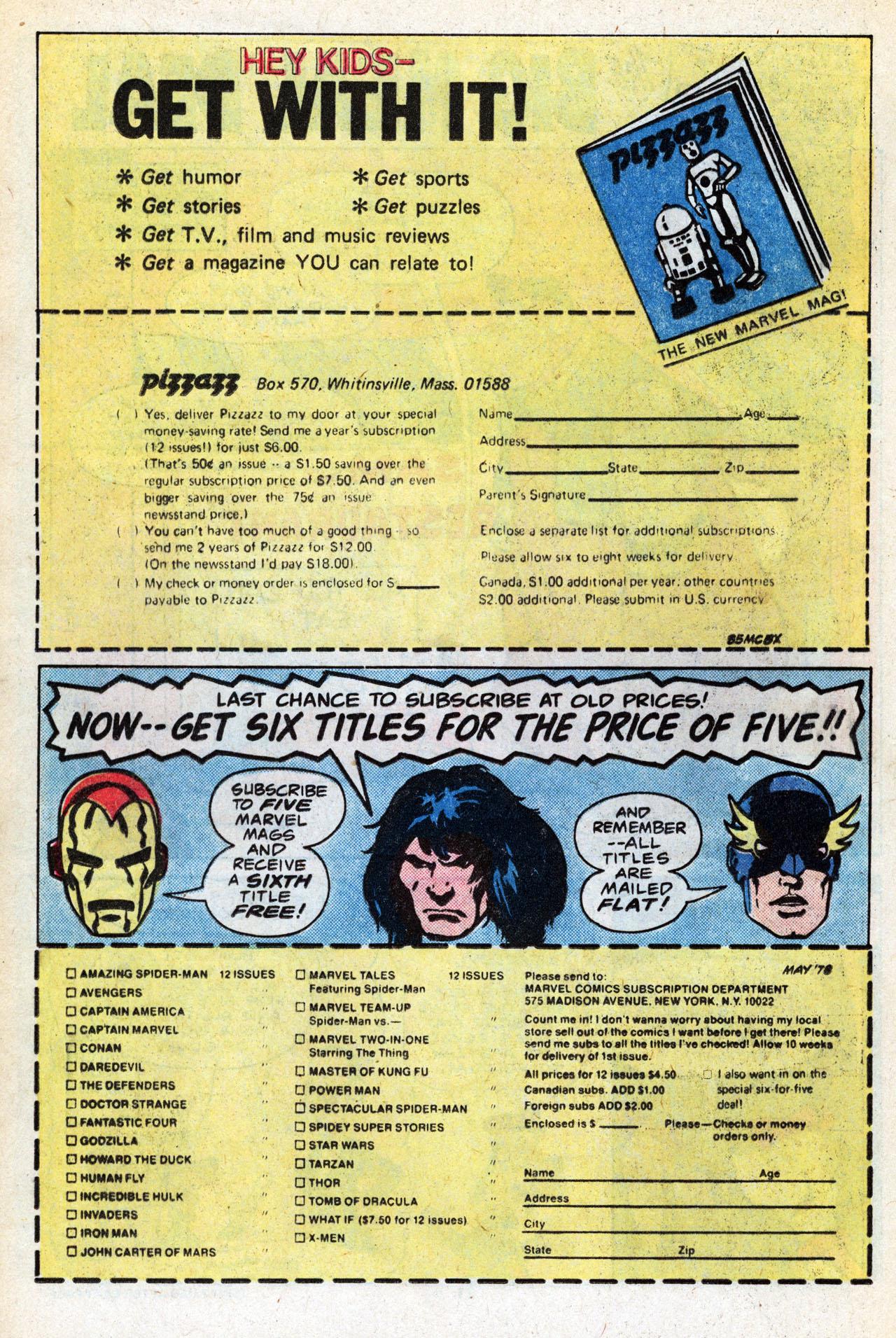 Read online TV Stars comic -  Issue #1 - 23