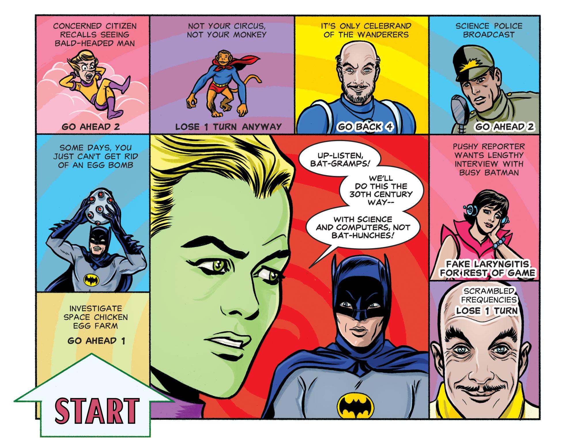 Read online Batman '66 Meets the Legion of Super-Heroes comic -  Issue #1 - 20