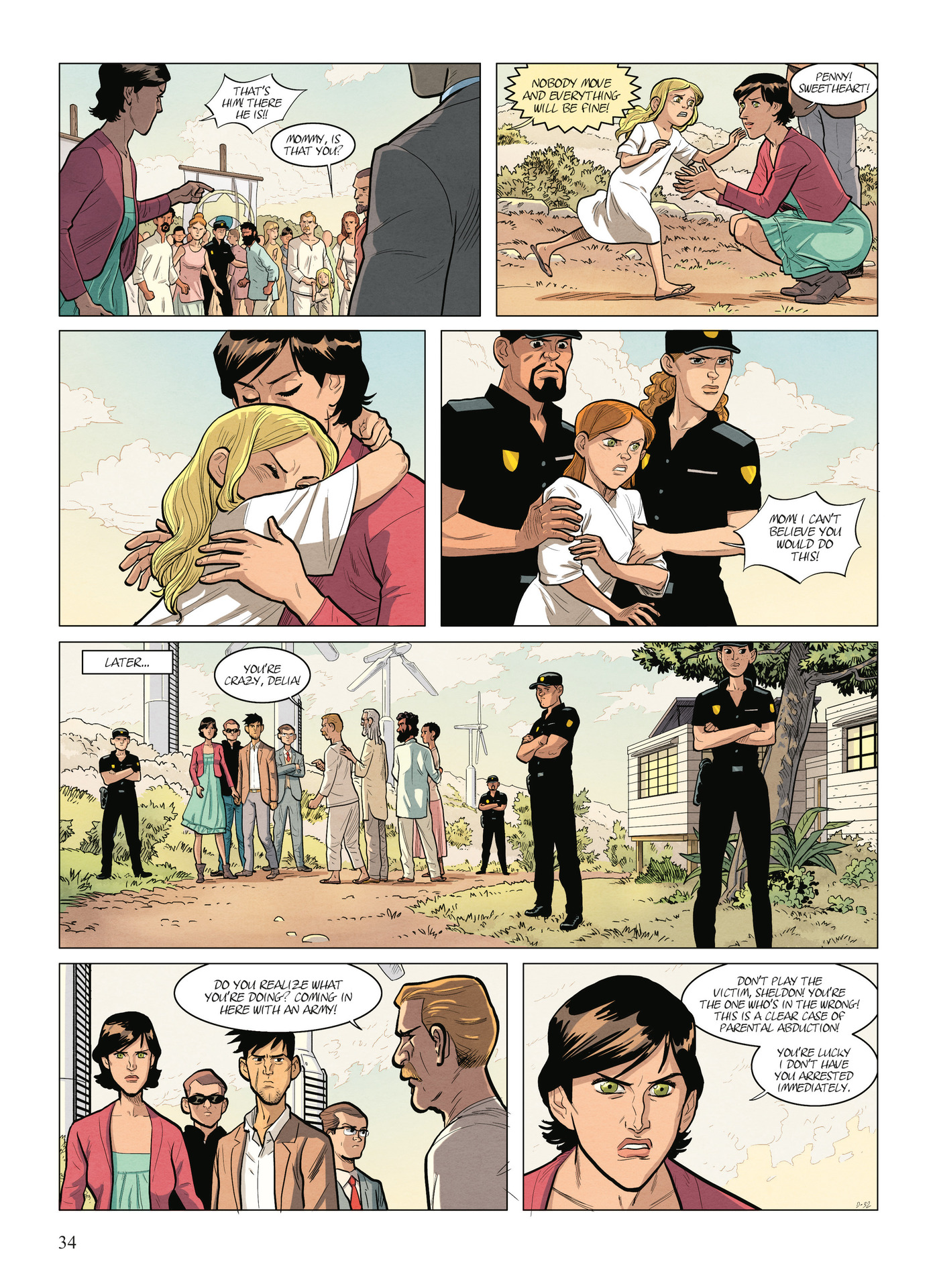 Read online Alter Ego comic -  Issue #9 - 36