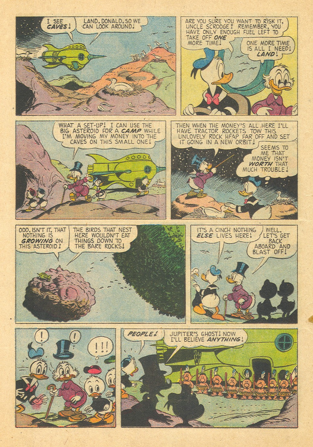 Read online Uncle Scrooge (1953) comic -  Issue #29 - 12