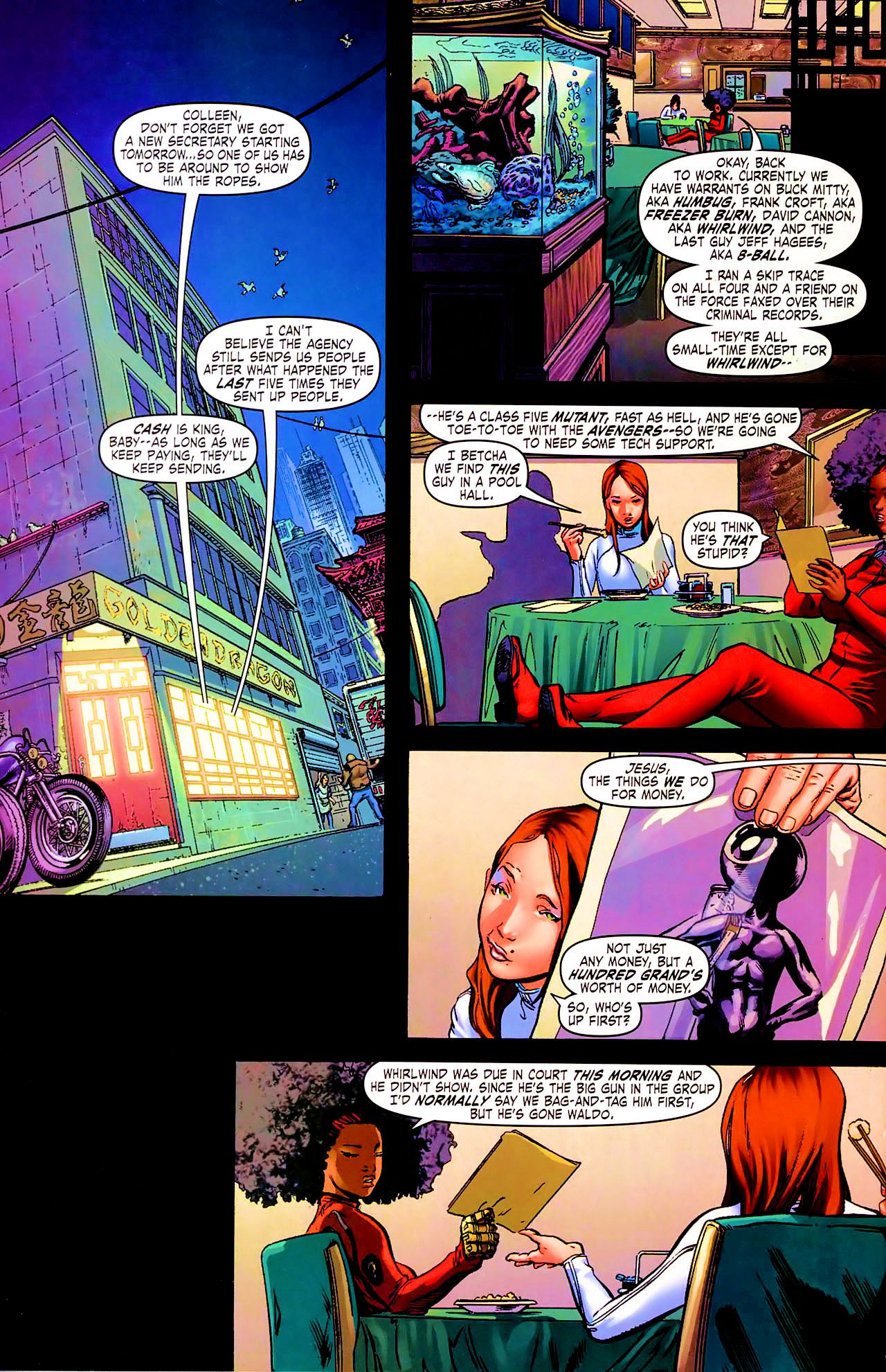 Read online Daughters of the Dragon comic -  Issue #1 - 17