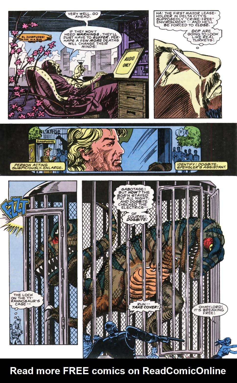 Read online Robocop (1990) comic -  Issue #7 - 16