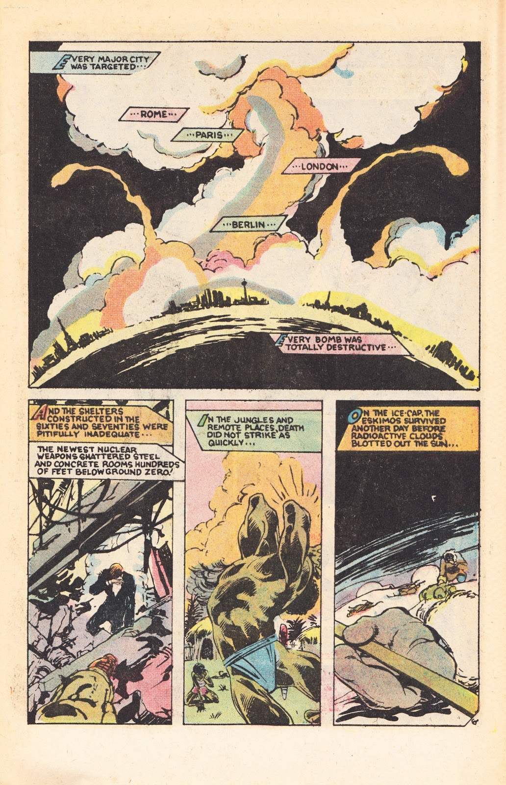 Read online Doomsday   1 (1975) comic -  Issue #7 - 9