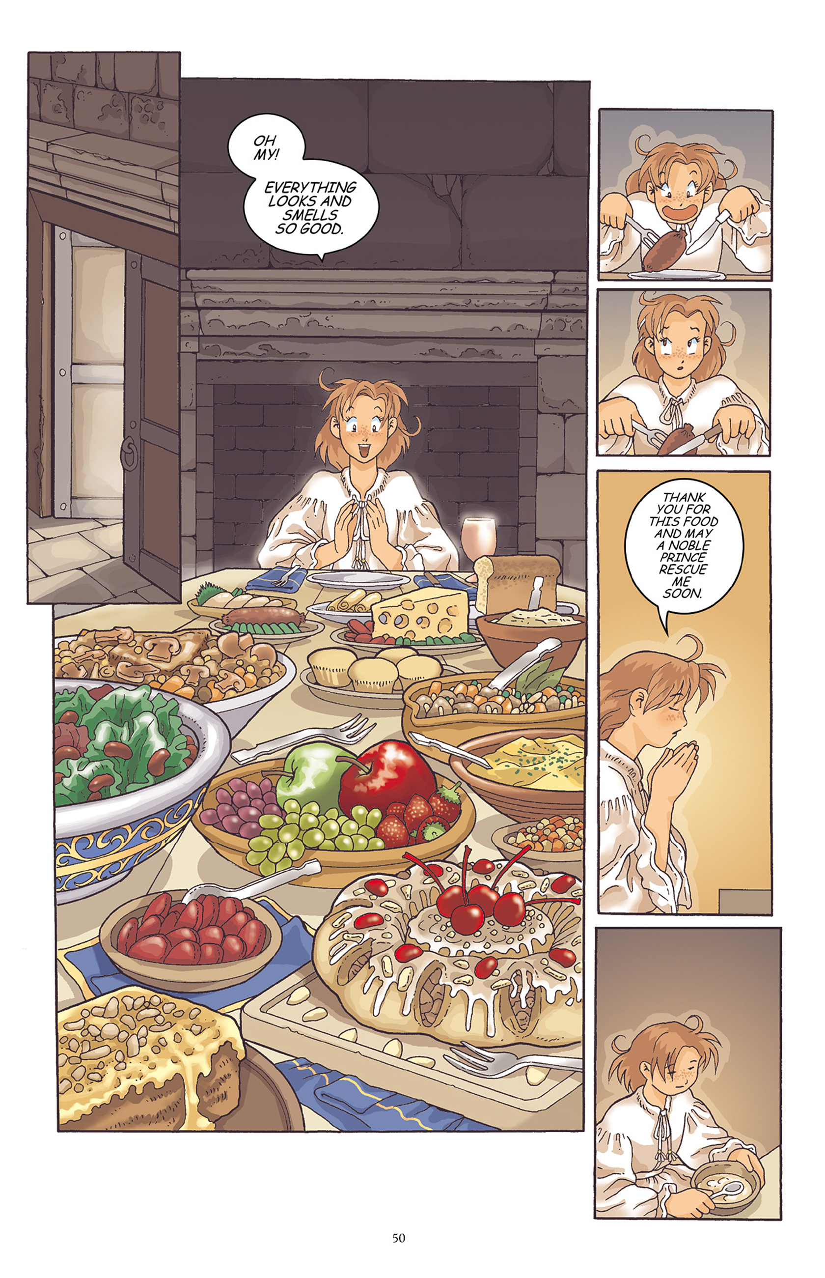 Read online Courageous Princess comic -  Issue # TPB 1 - 51