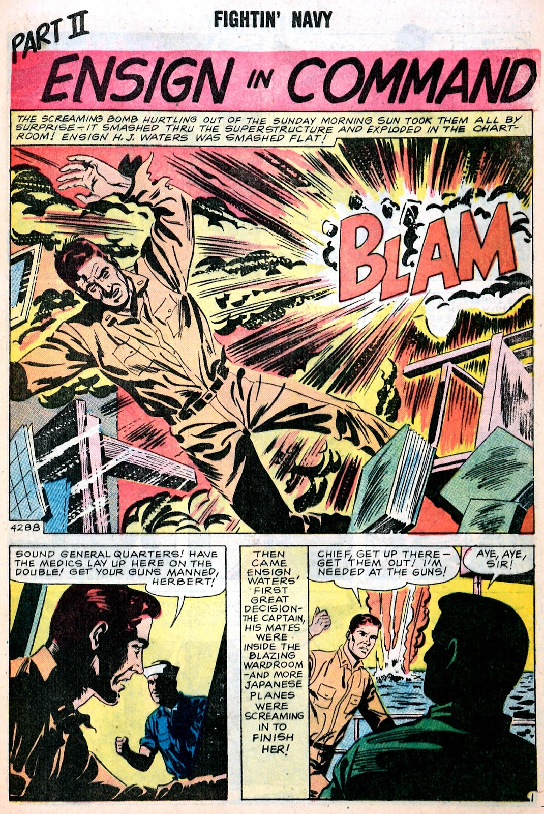 Read online Fightin' Navy comic -  Issue #85 - 9