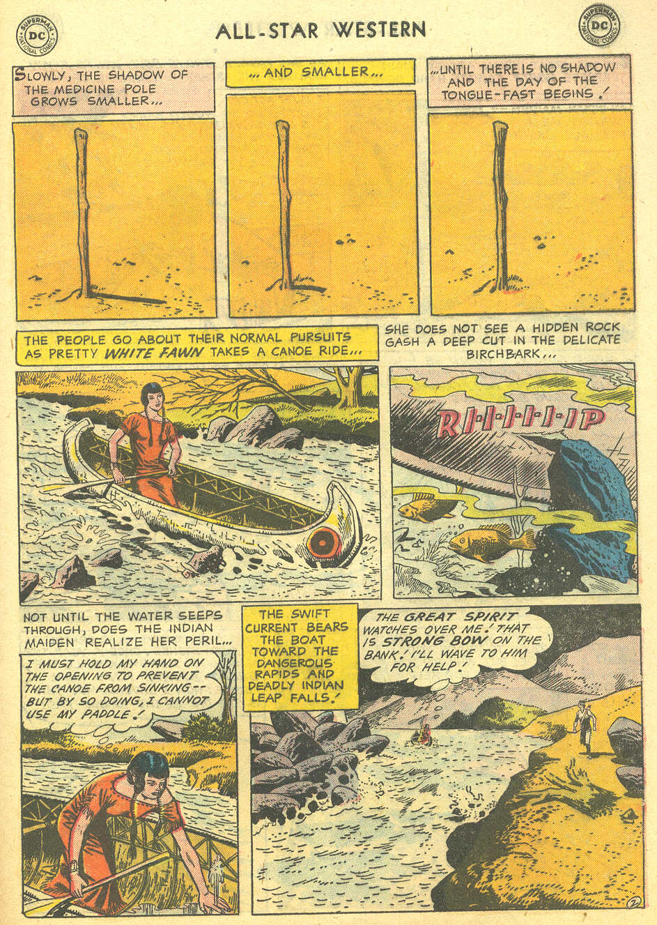 Read online All-Star Western (1951) comic -  Issue #95 - 29