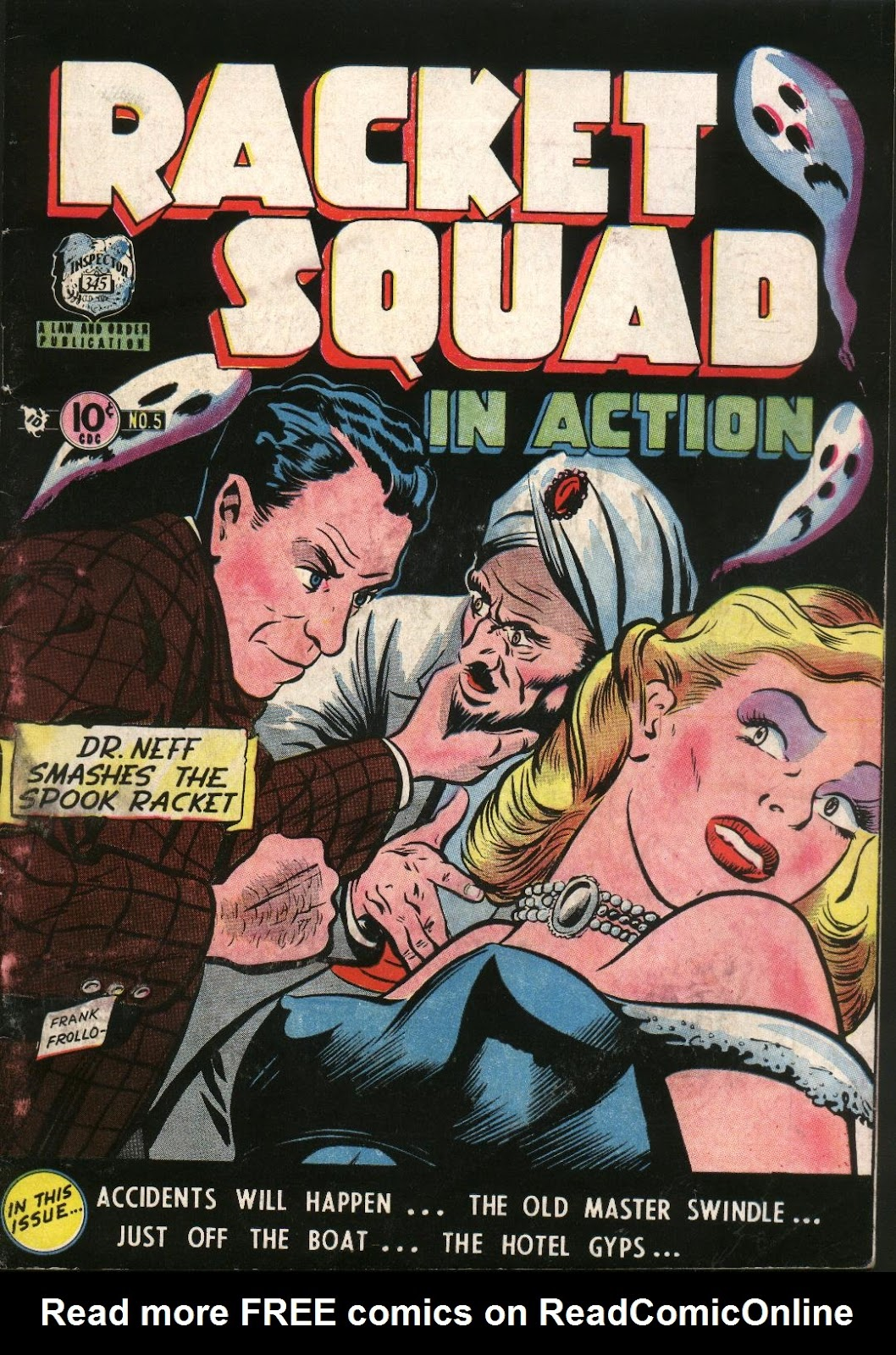 Read online Racket Squad in Action comic -  Issue #5 - 1