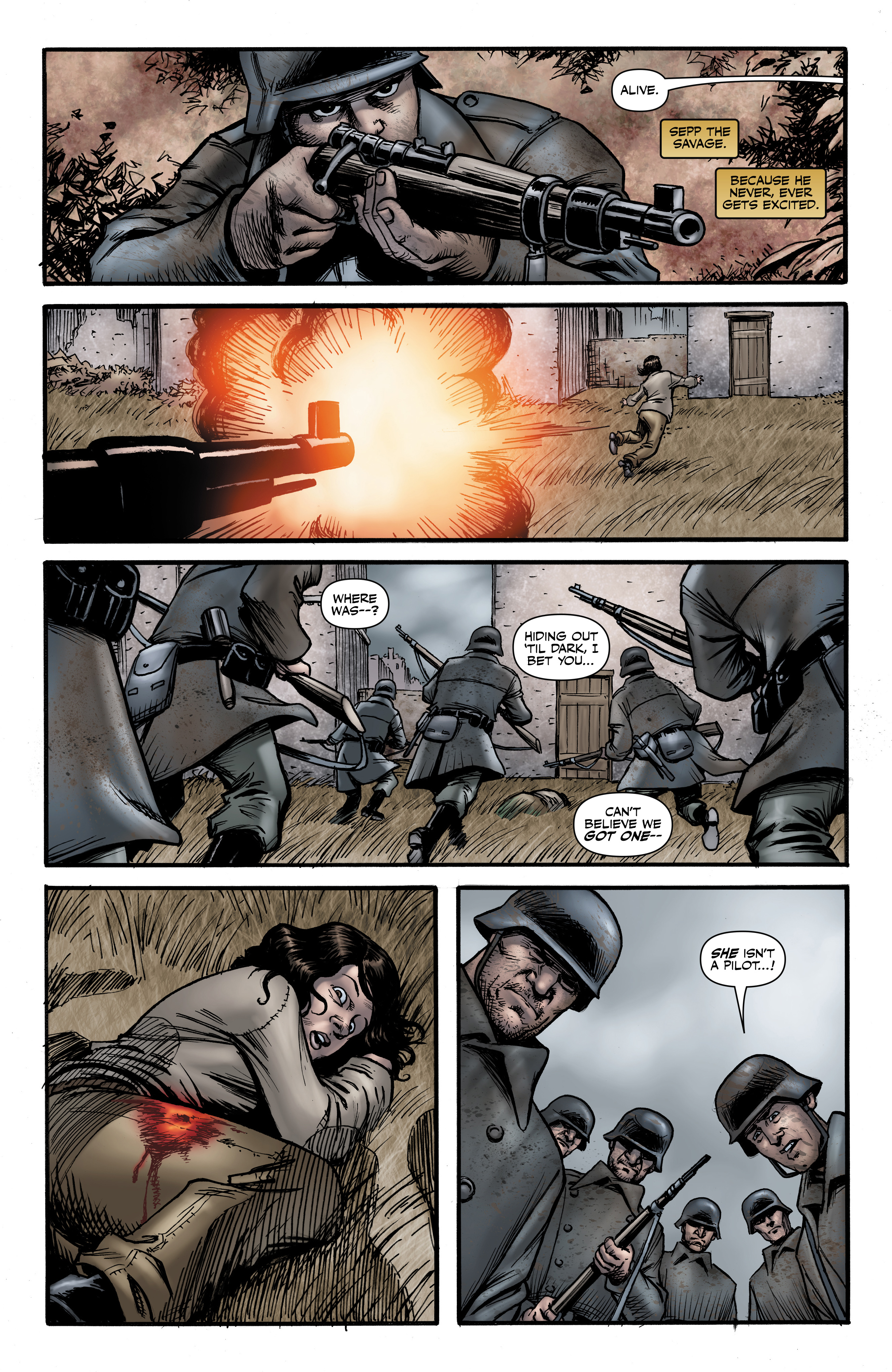 Read online Battlefields: Night Witches comic -  Issue # TPB - 40