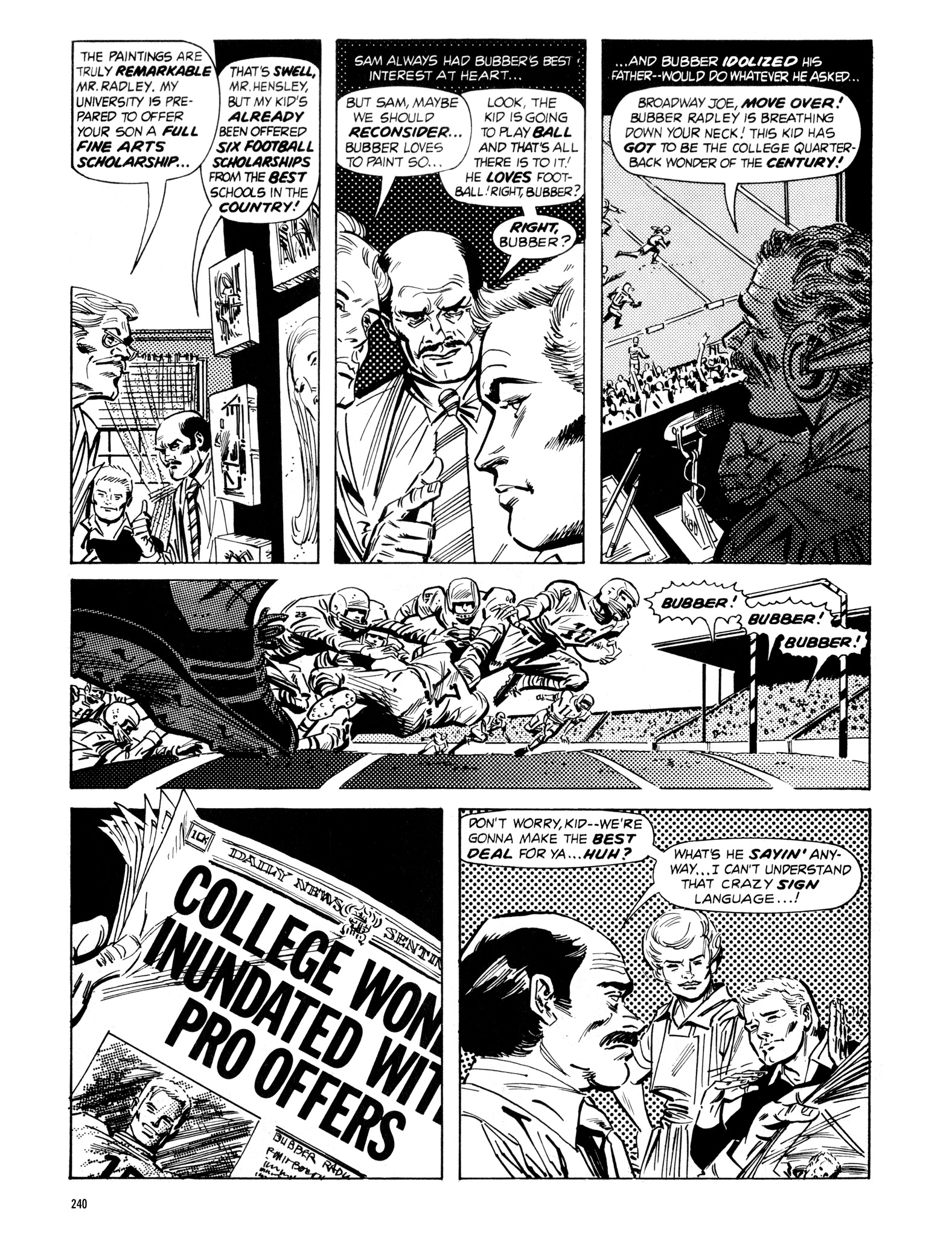Read online Eerie Archives comic -  Issue # TPB 16 - 241