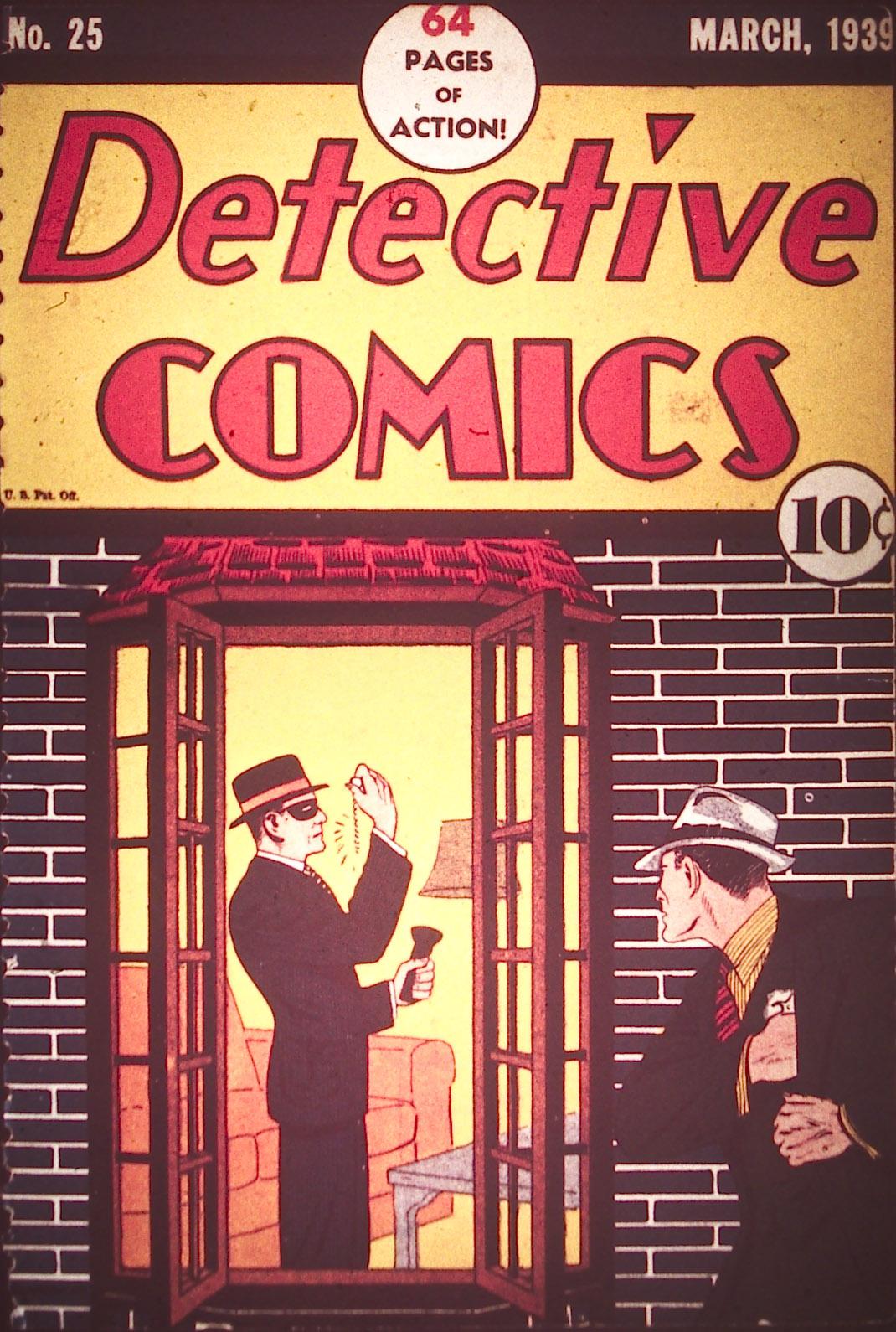 Read online Detective Comics (1937) comic -  Issue #25 - 1