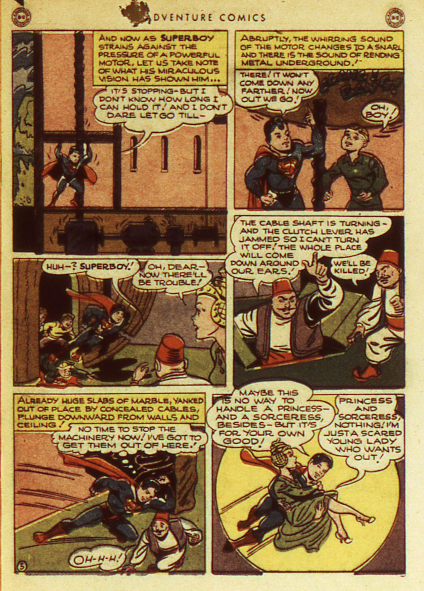 Read online Adventure Comics (1938) comic -  Issue #105 - 7